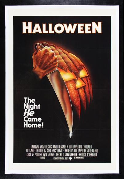 HALLOWEEN * CineMasterpieces 1978 ORIGINAL VINTAGE MOVIE ...