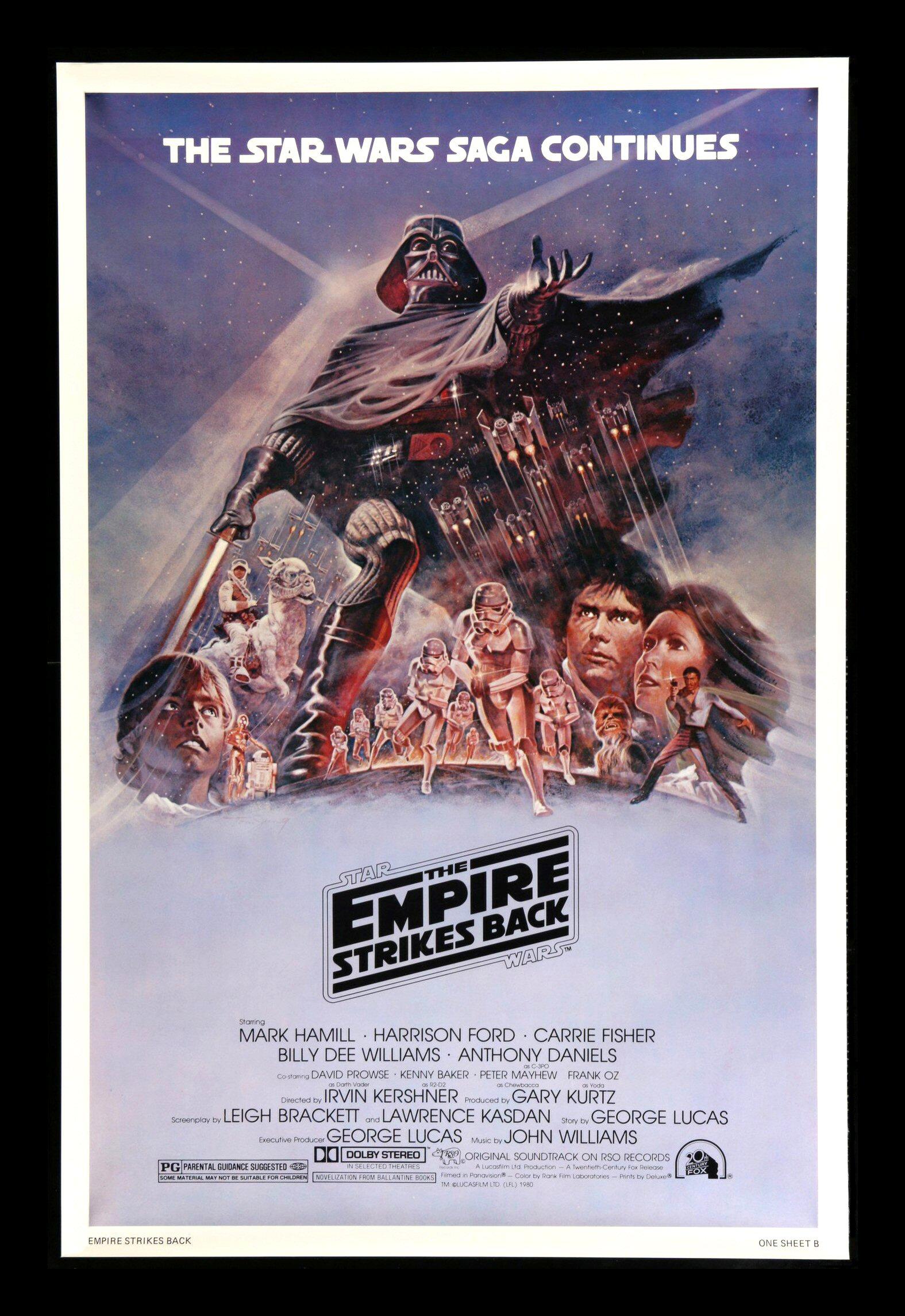 the empire strikes back cinemasterpieces rare purple b