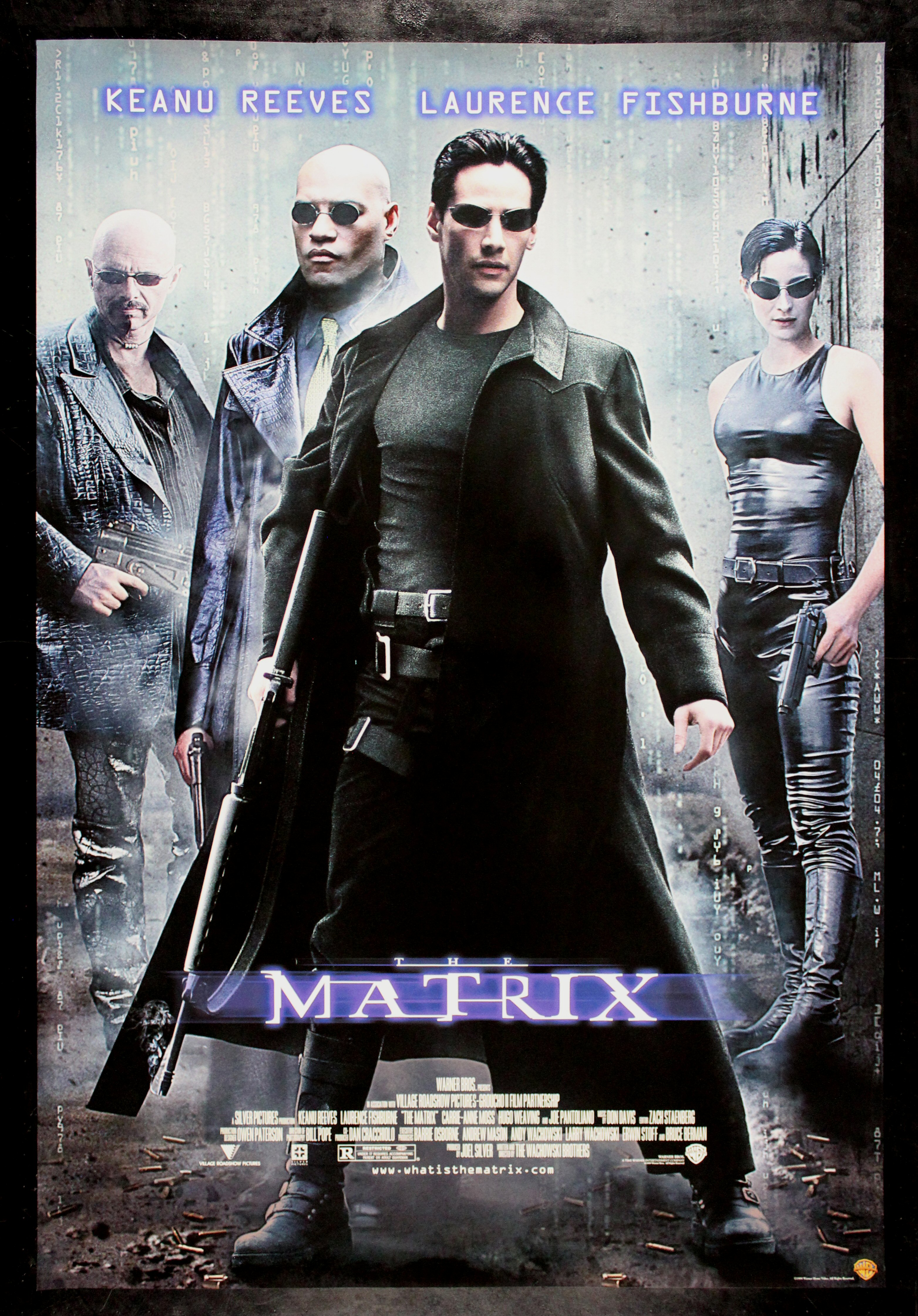 THE MATRIX * CineMasterpieces ORIGINAL VIDEO MOVIE POSTER ...
