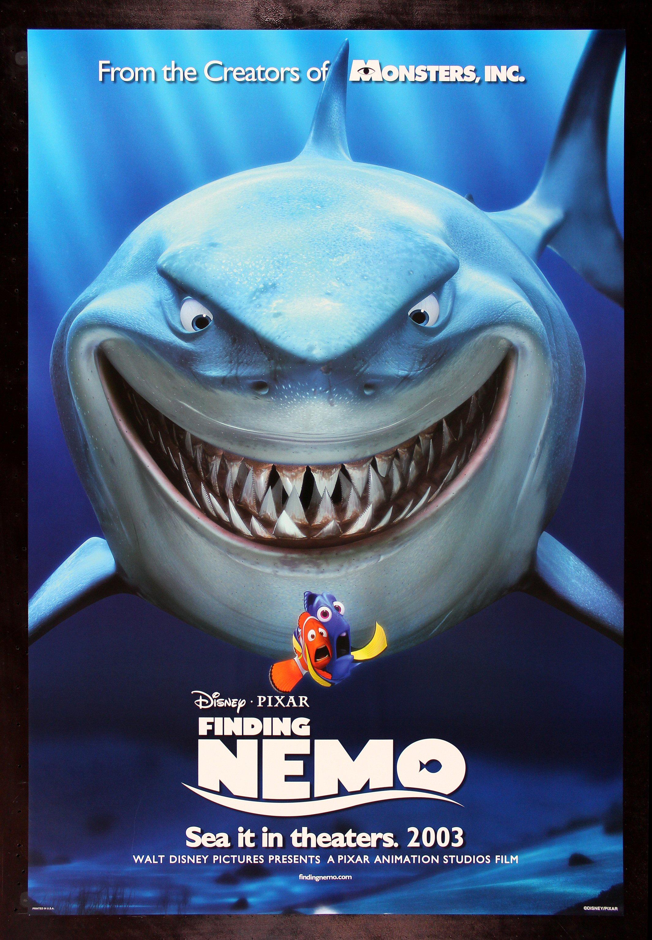 Finding Nemo Cinemasterpieces Disney Shark Fish Ocean