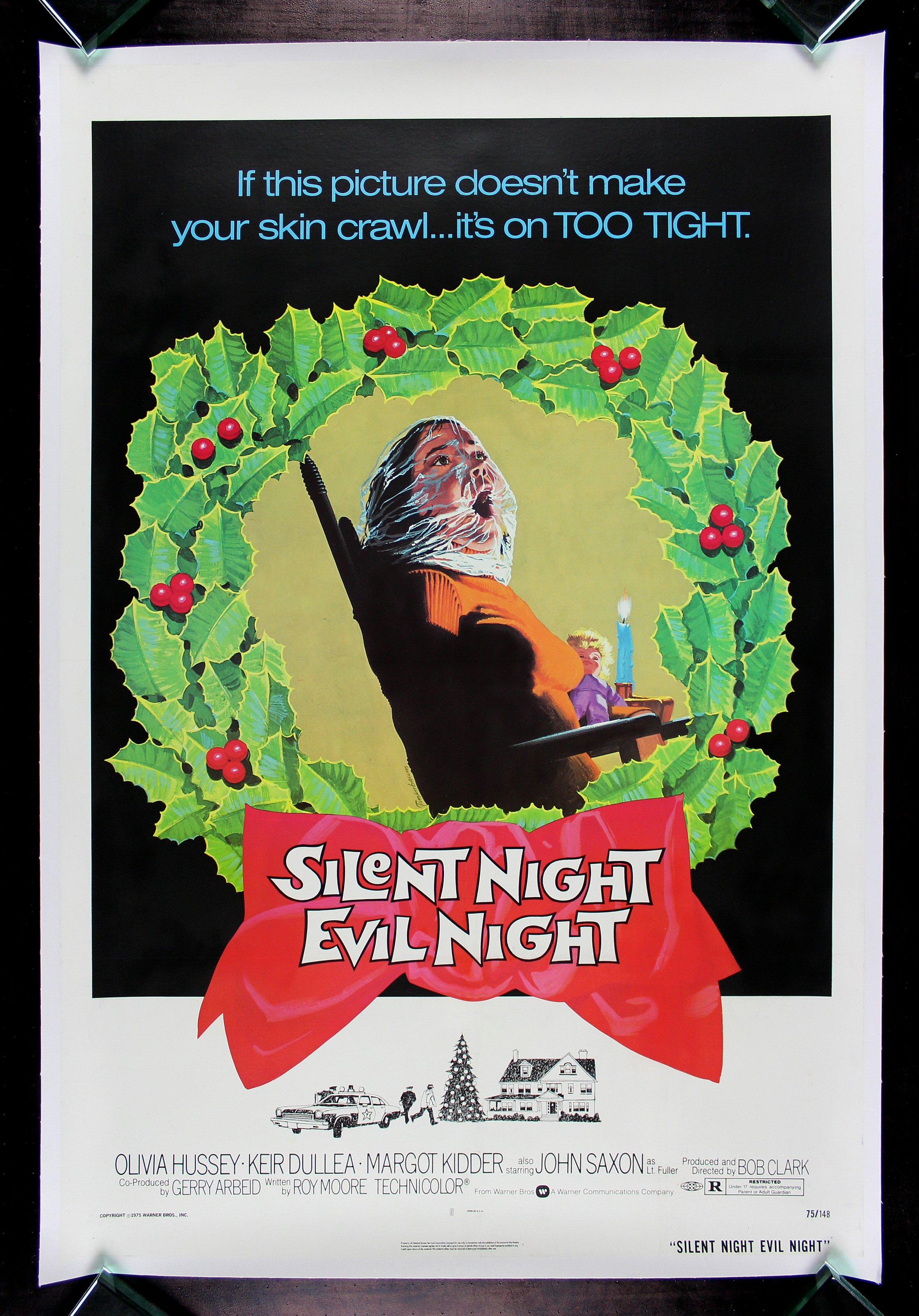 SILENT NIGHT EVIL NIGHT * CineMasterpieces BLACK CHRISTMAS ...