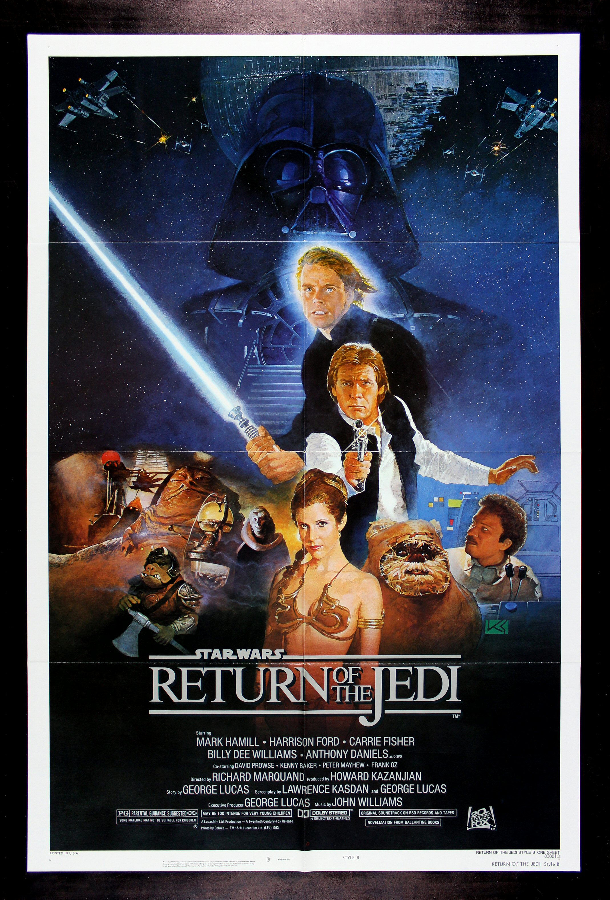 return of the jedi cinemasterpieces star wars 1sh