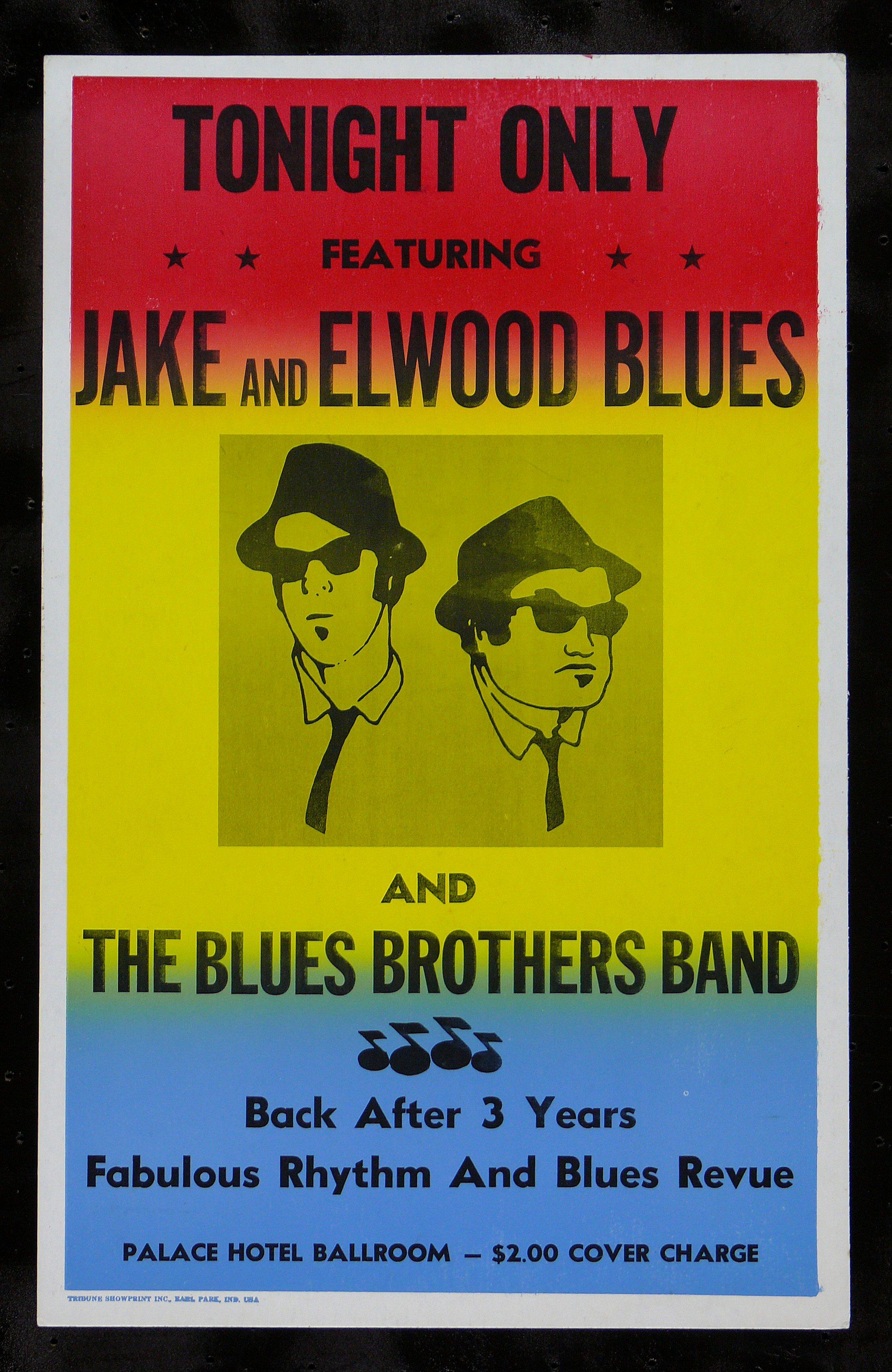 Blues Brothers Cinemasterpieces Original Prop Movie