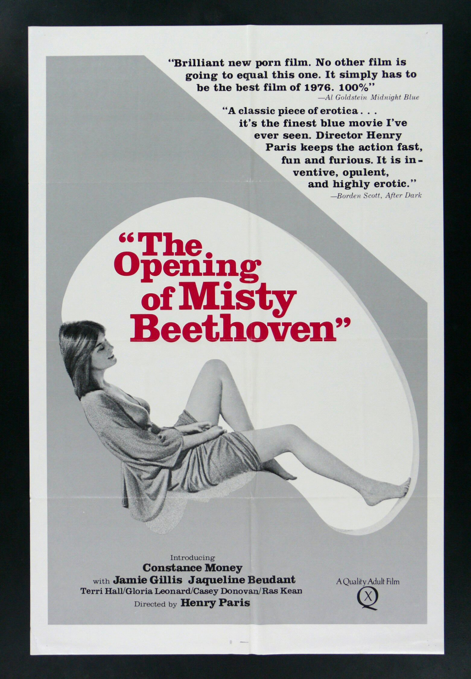 Watch the opening of misty beethoven