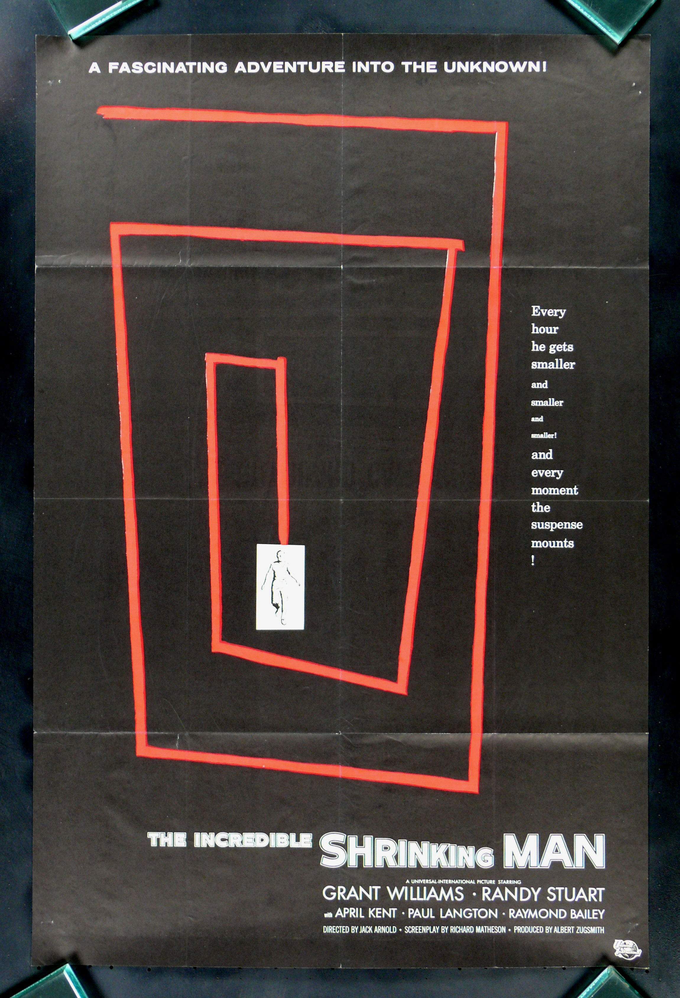 http://www.cinemasterpieces.com/82011/mj5.jpg Incredible Shrinking Man Poster