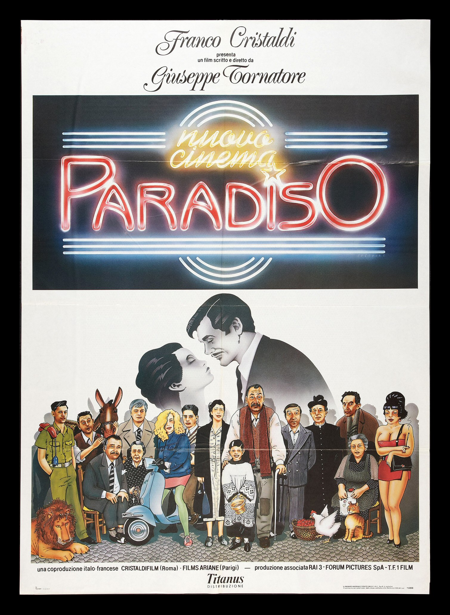 a plot analysis of the film cinema paradiso by giuseppe tornatore Cinema paradiso 1988 pg 2h 4m when a sicilian boy is mesmerized by the movies at his local theater, he befriends a projectionist who tells him to leave home and pursue his dreams.