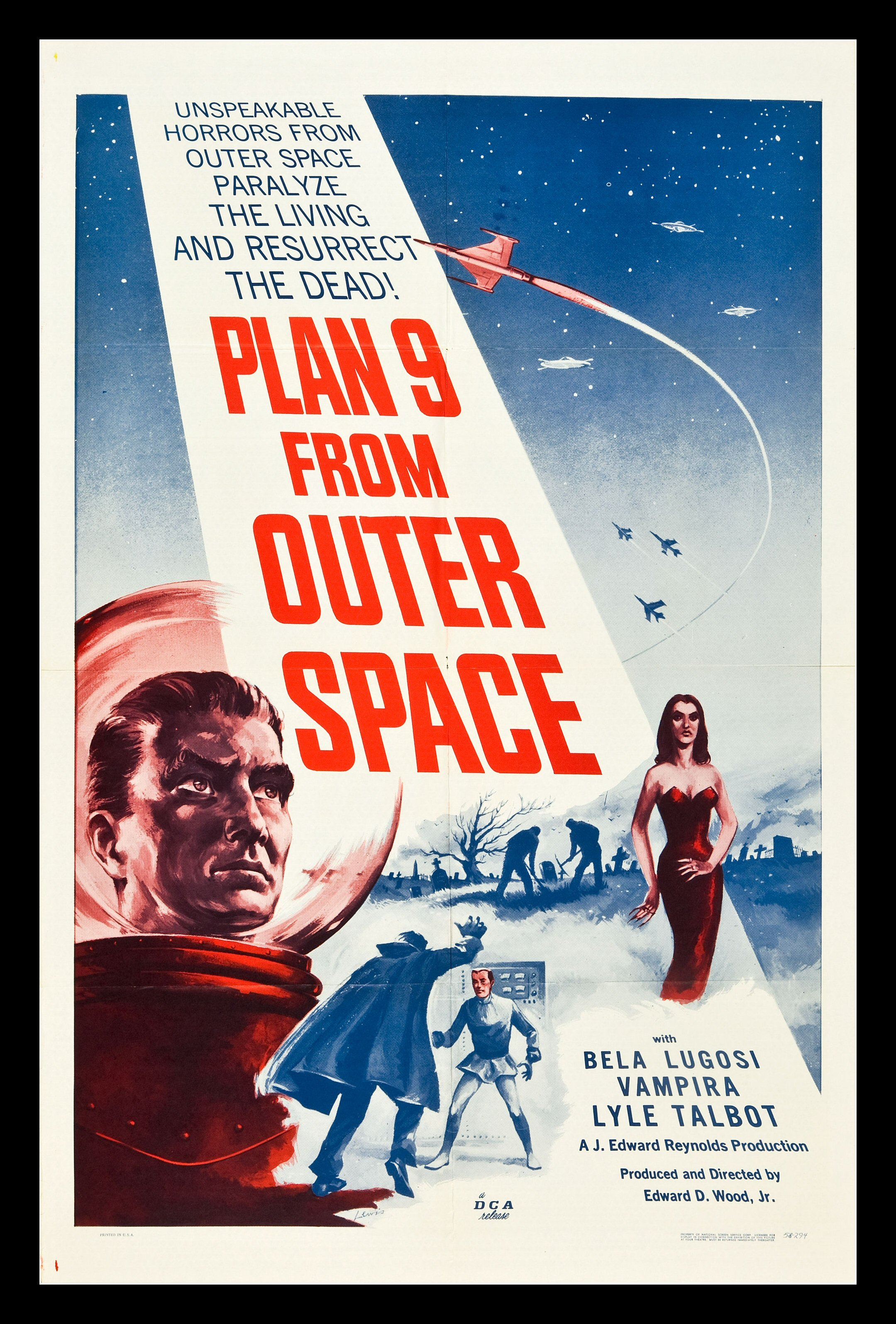 Plan 9 from outer space cinemasterpieces original movie for From outer space