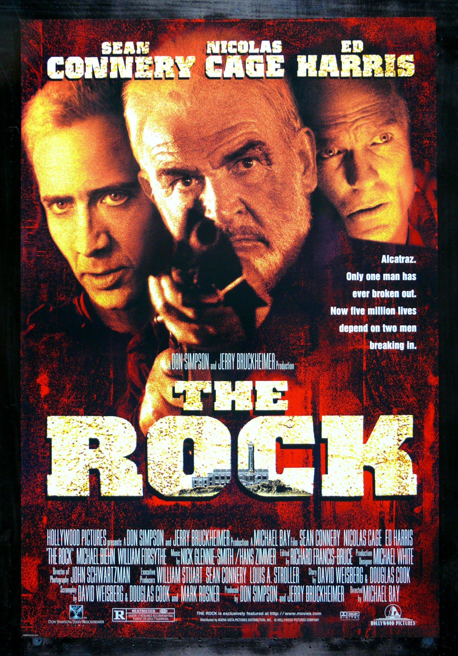 the rock cinemasterpieces alcatraz prison jail orig sean
