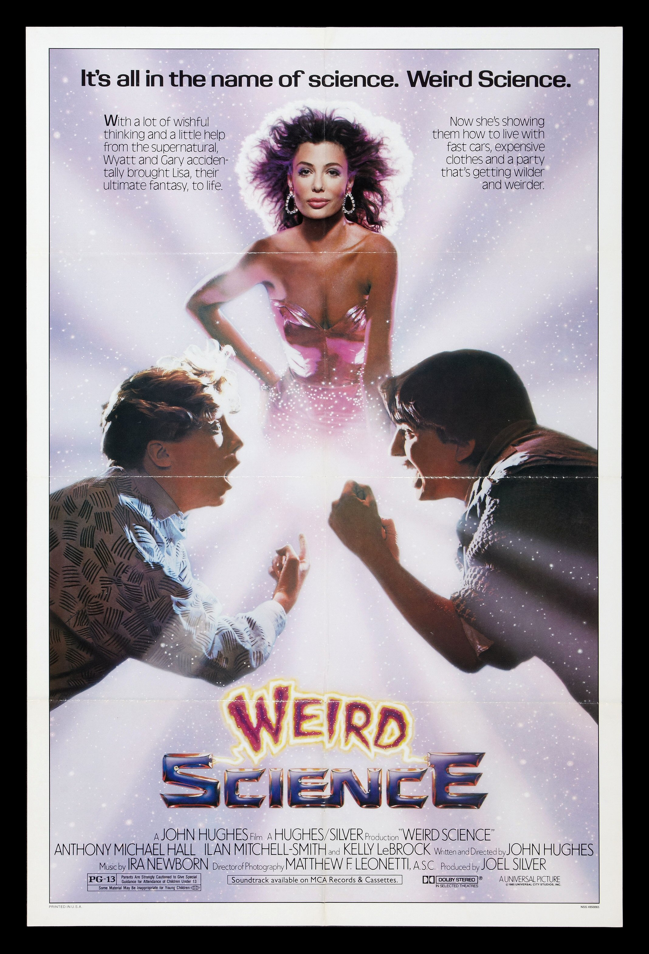 Weird Science Poster | eBay