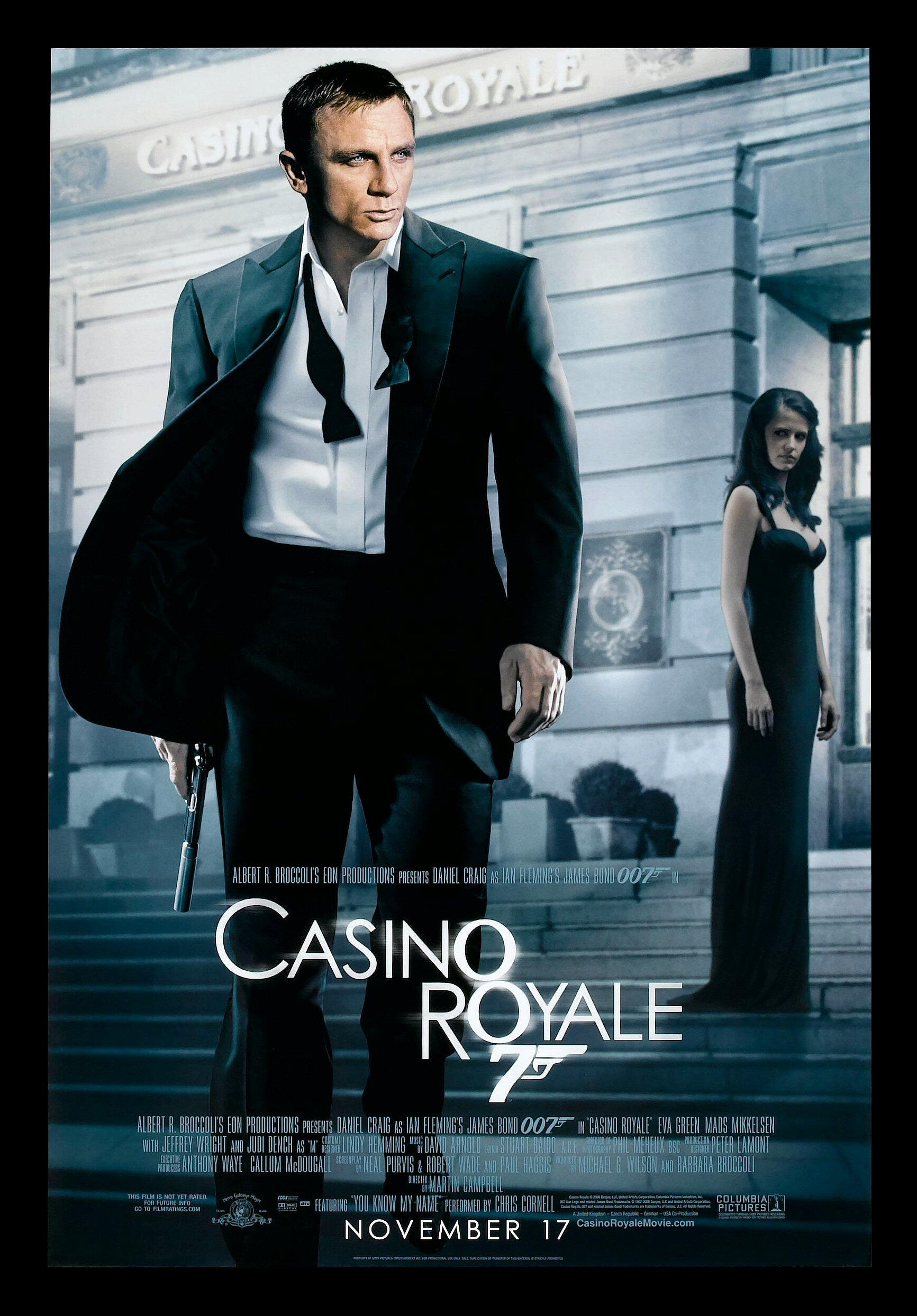 Casino Royale Cinemasterpieces 1sh Ds James Bond 007