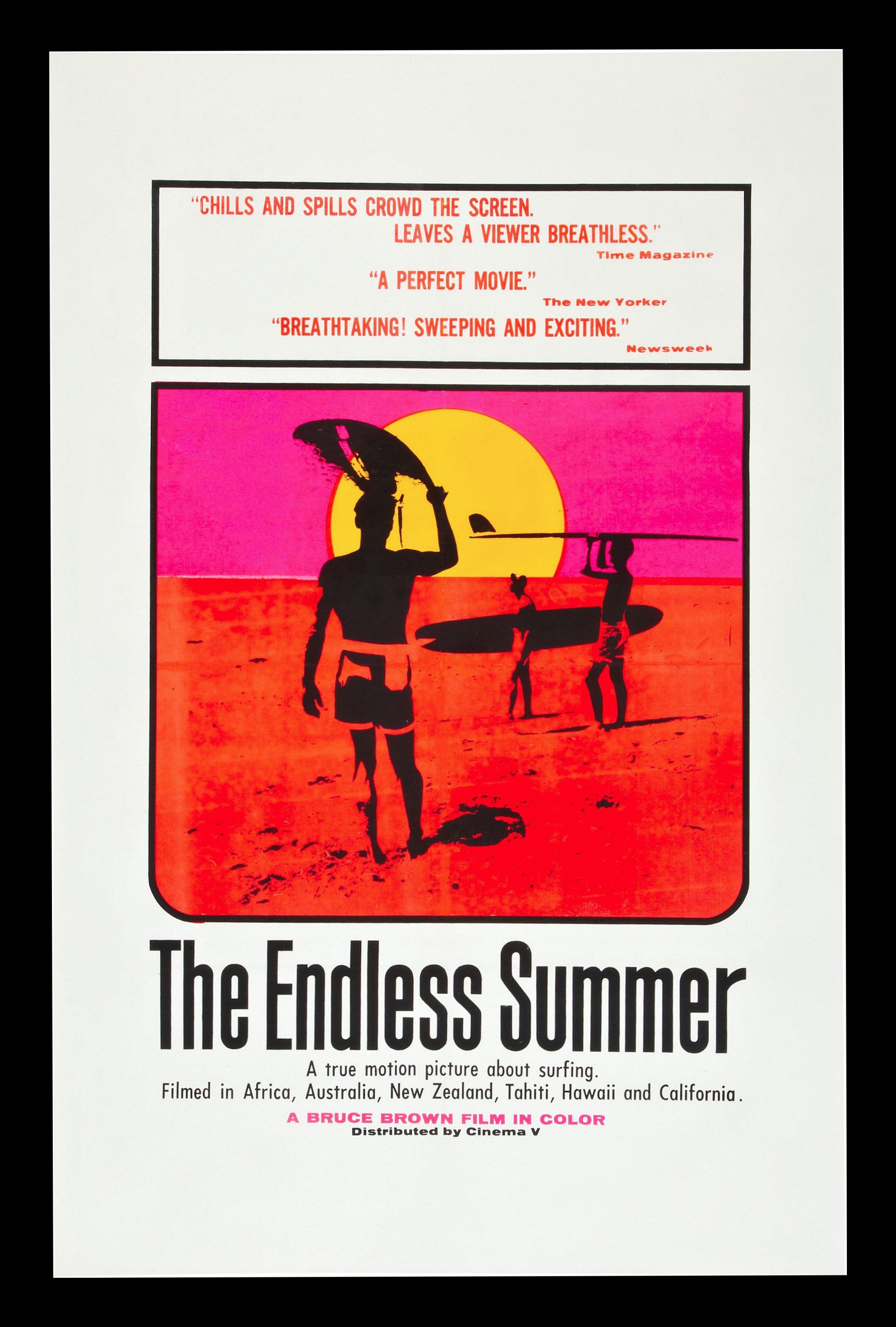 endless summer 1sh orig movie poster ocean beach surf ebay. Black Bedroom Furniture Sets. Home Design Ideas