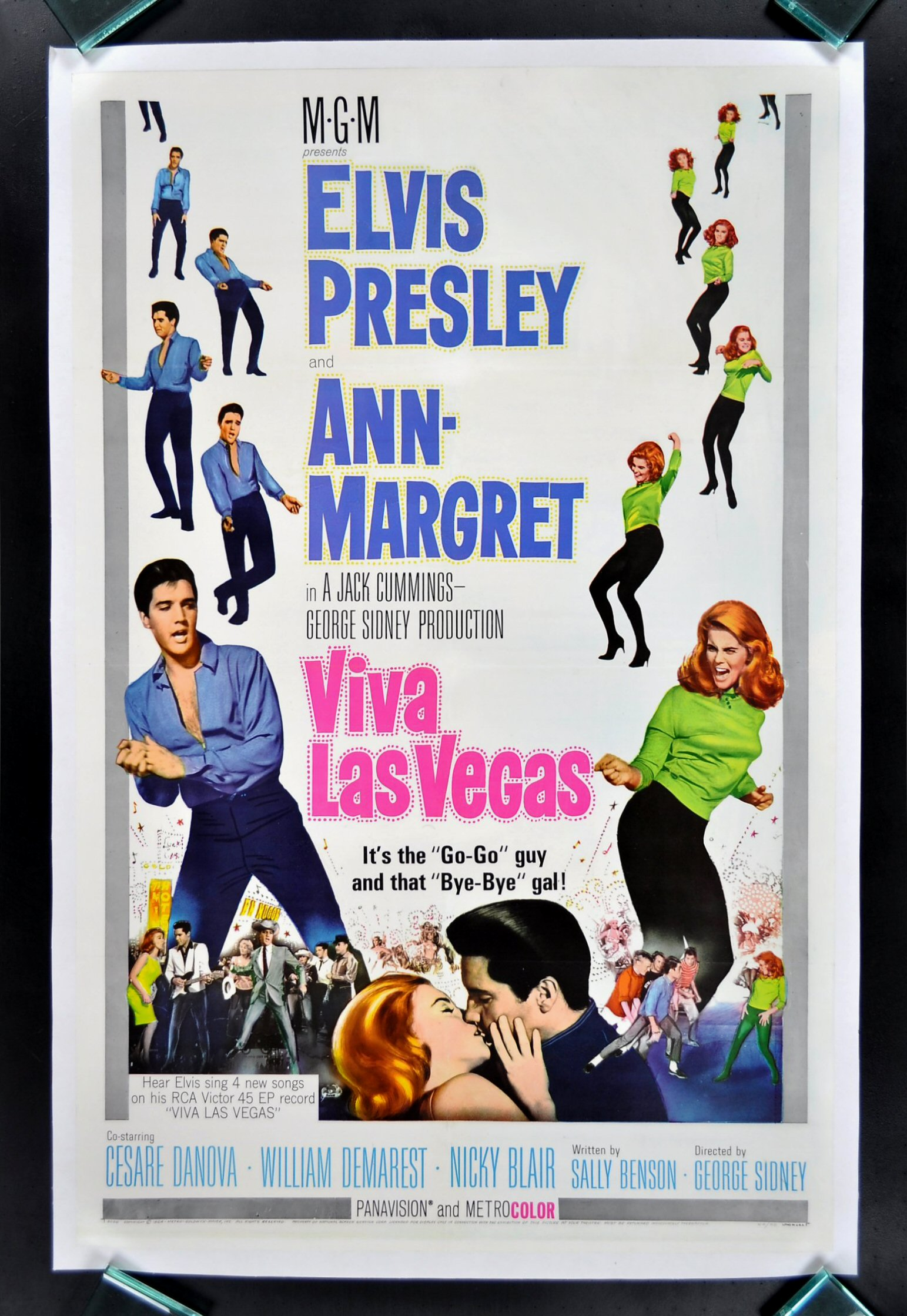 VIVA LAS VEGAS Original CineMasterpieces MOVIE POSTER ...