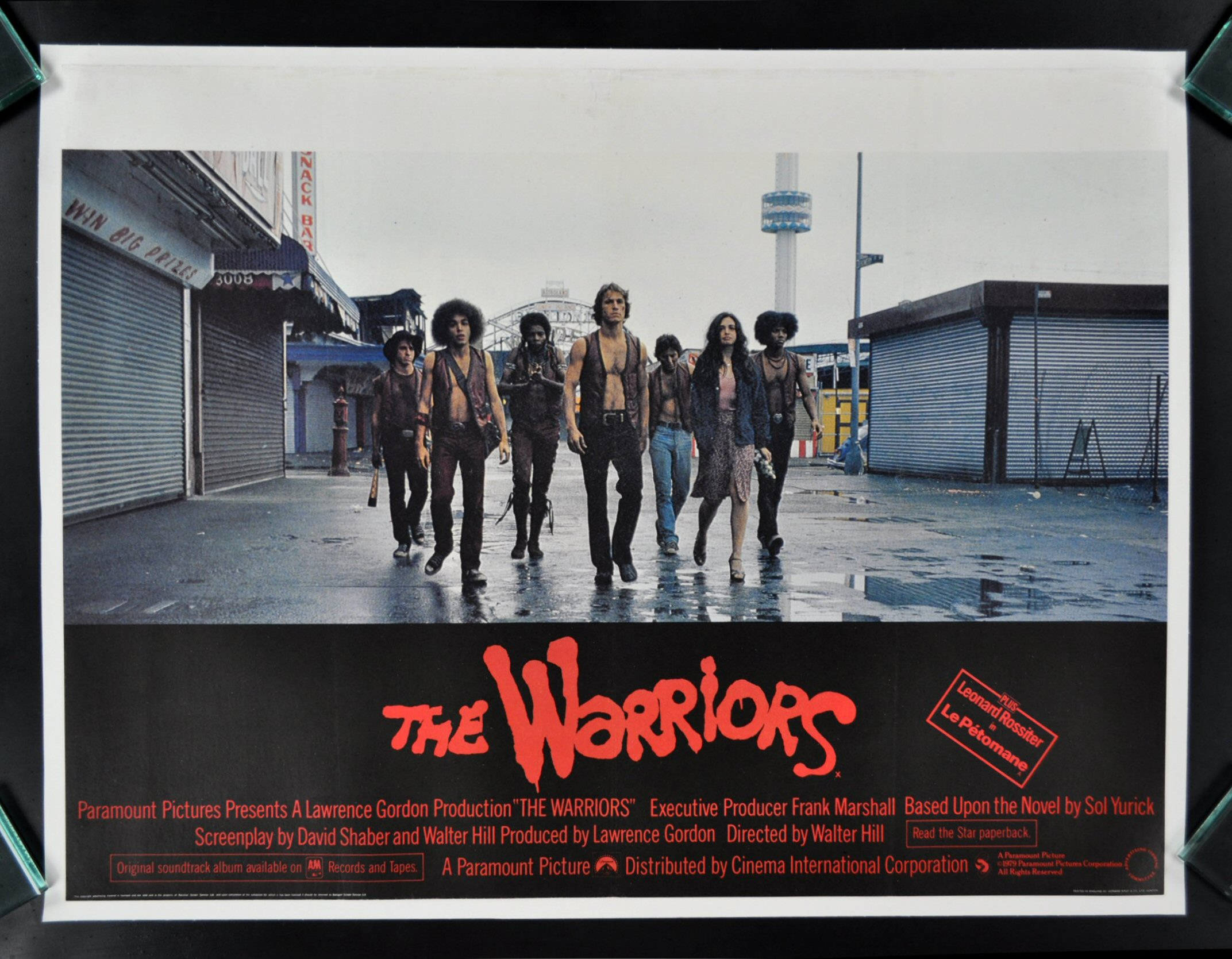 WARRIORS   CineMasterpiec es BRITISH U K  ORIGINAL MOVIE POSTER 1979The Warriors Movie Poster