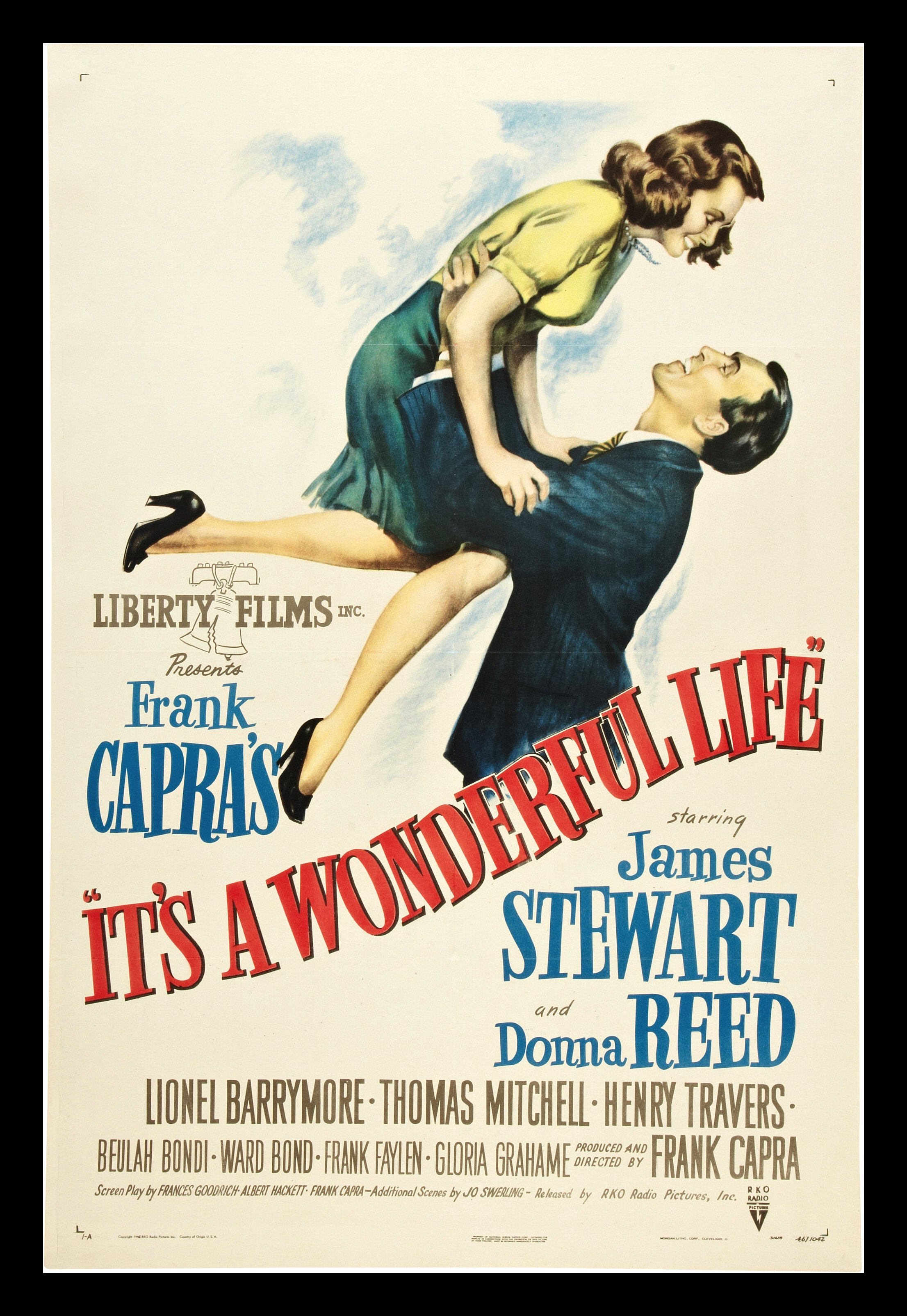 Its A Wonderful Life Cinemasterpieces Original Movie Poster Christmas 1946 Ebay