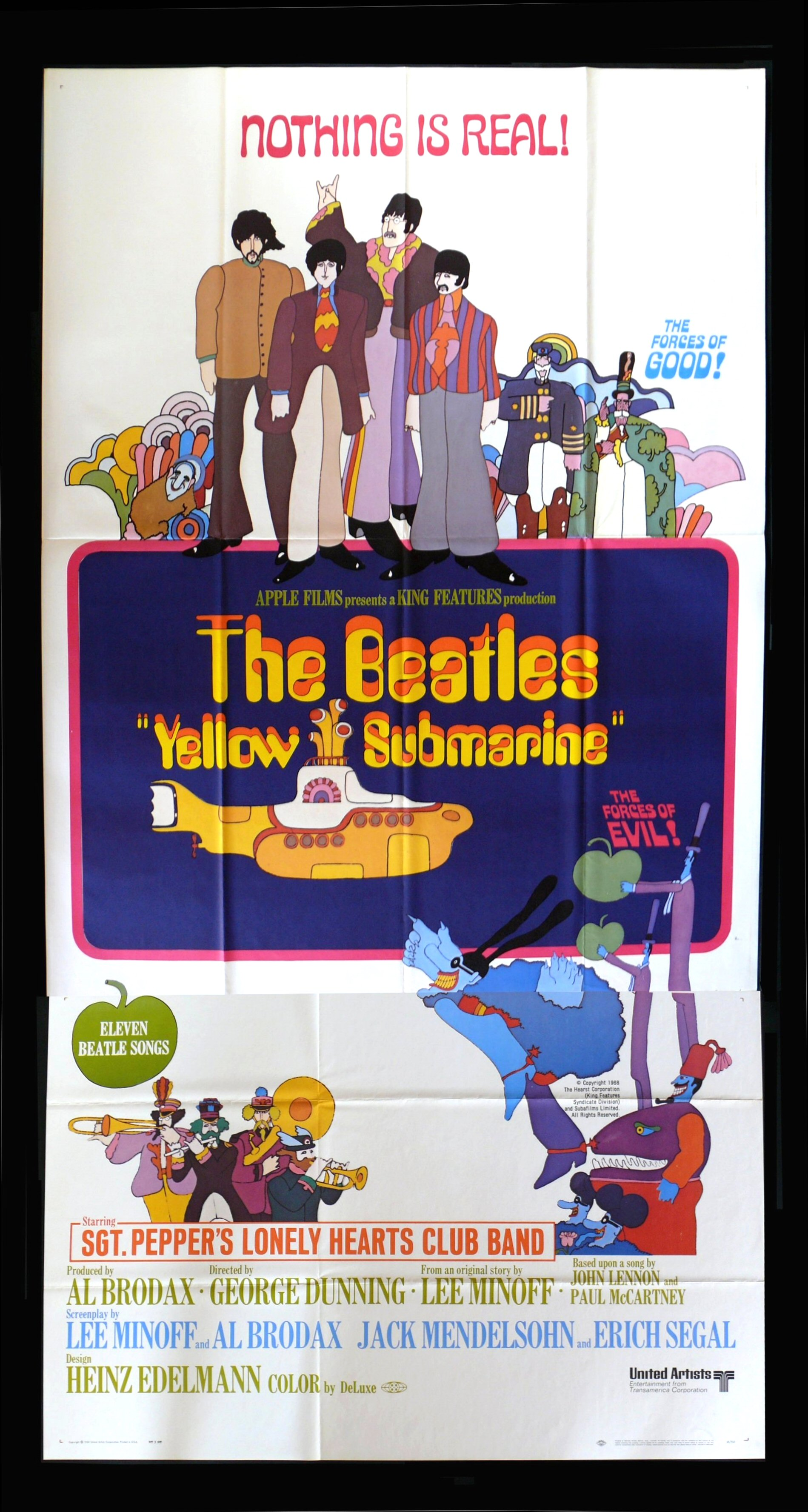 yellow submarine beatles movie posters young frankenstein