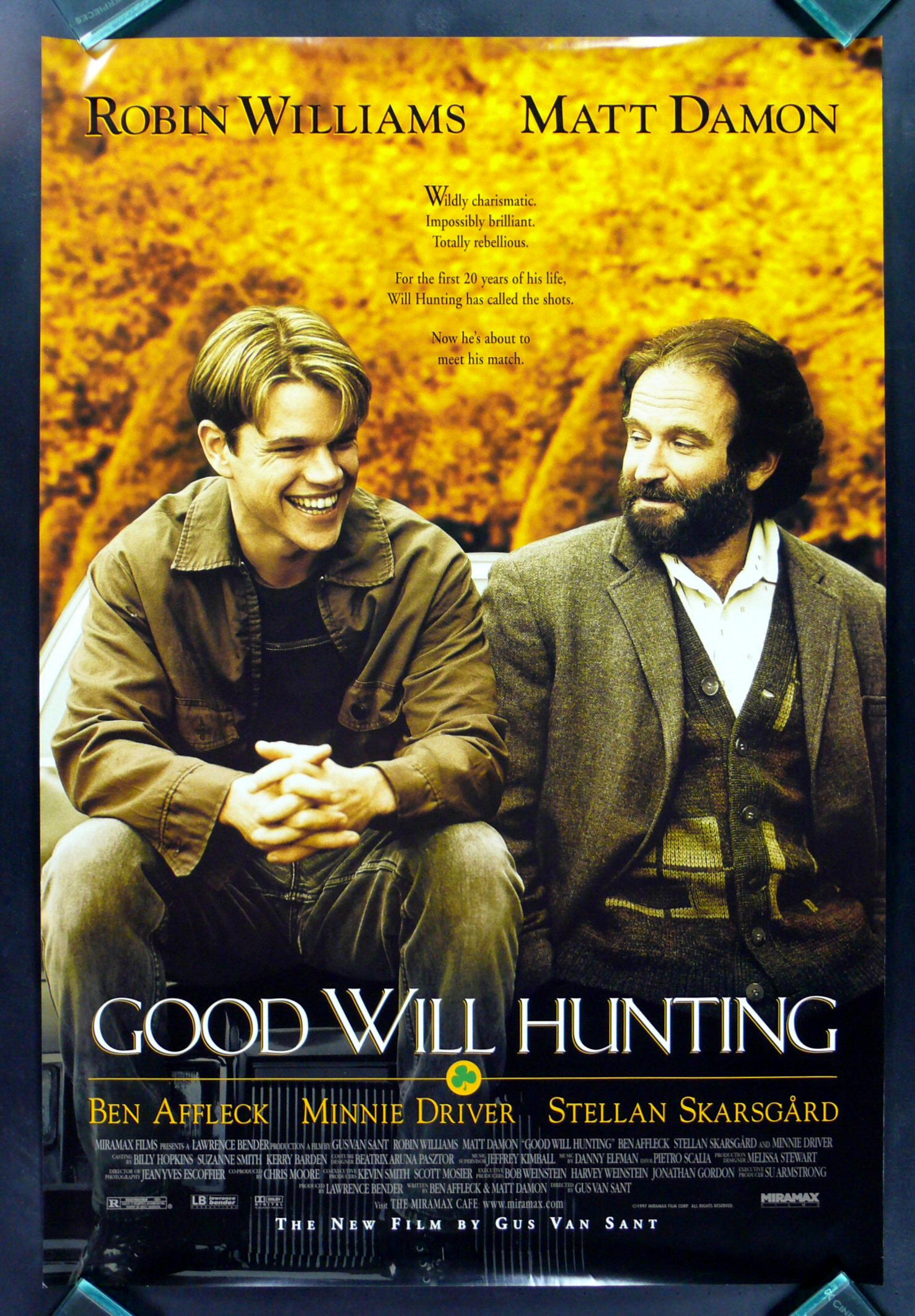 good will hunting movie response Film analysis - good will hunting summary the movie ends with will following his heart, and making decisions on his own accord will is very firm on his intent to not deal with therapy in his response to gerry.