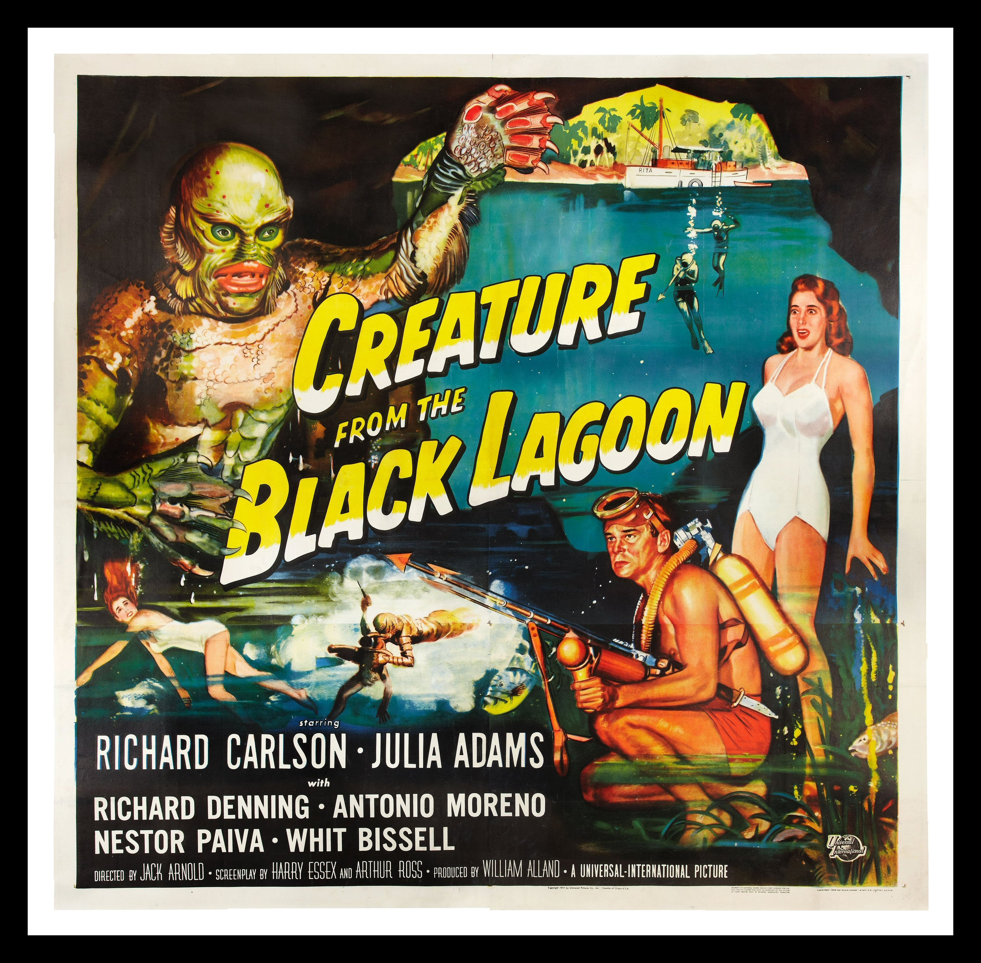 creature from the black lagoon cinemasterpieces 6sh