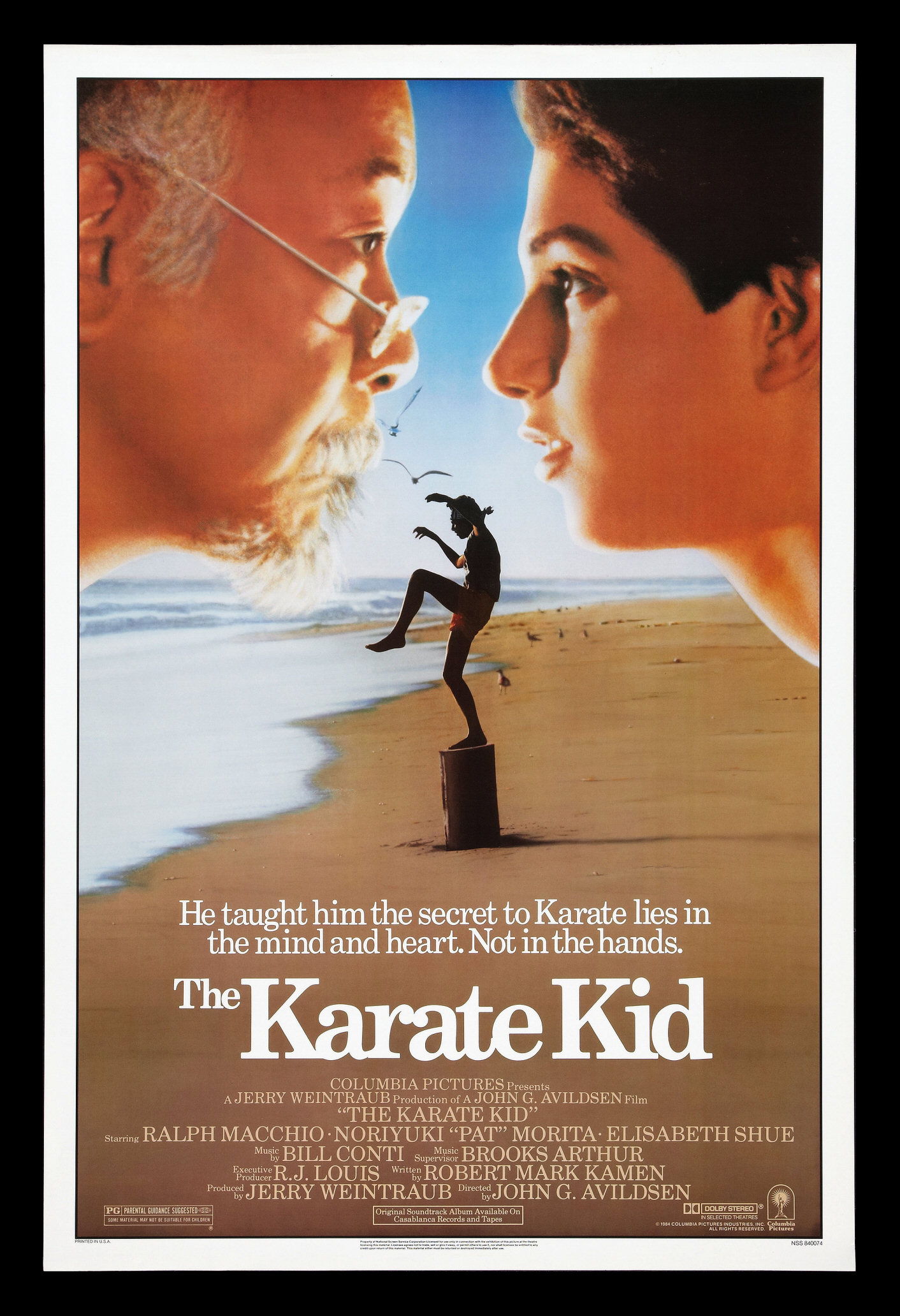 Karate kid the movie poster film poster one sheet