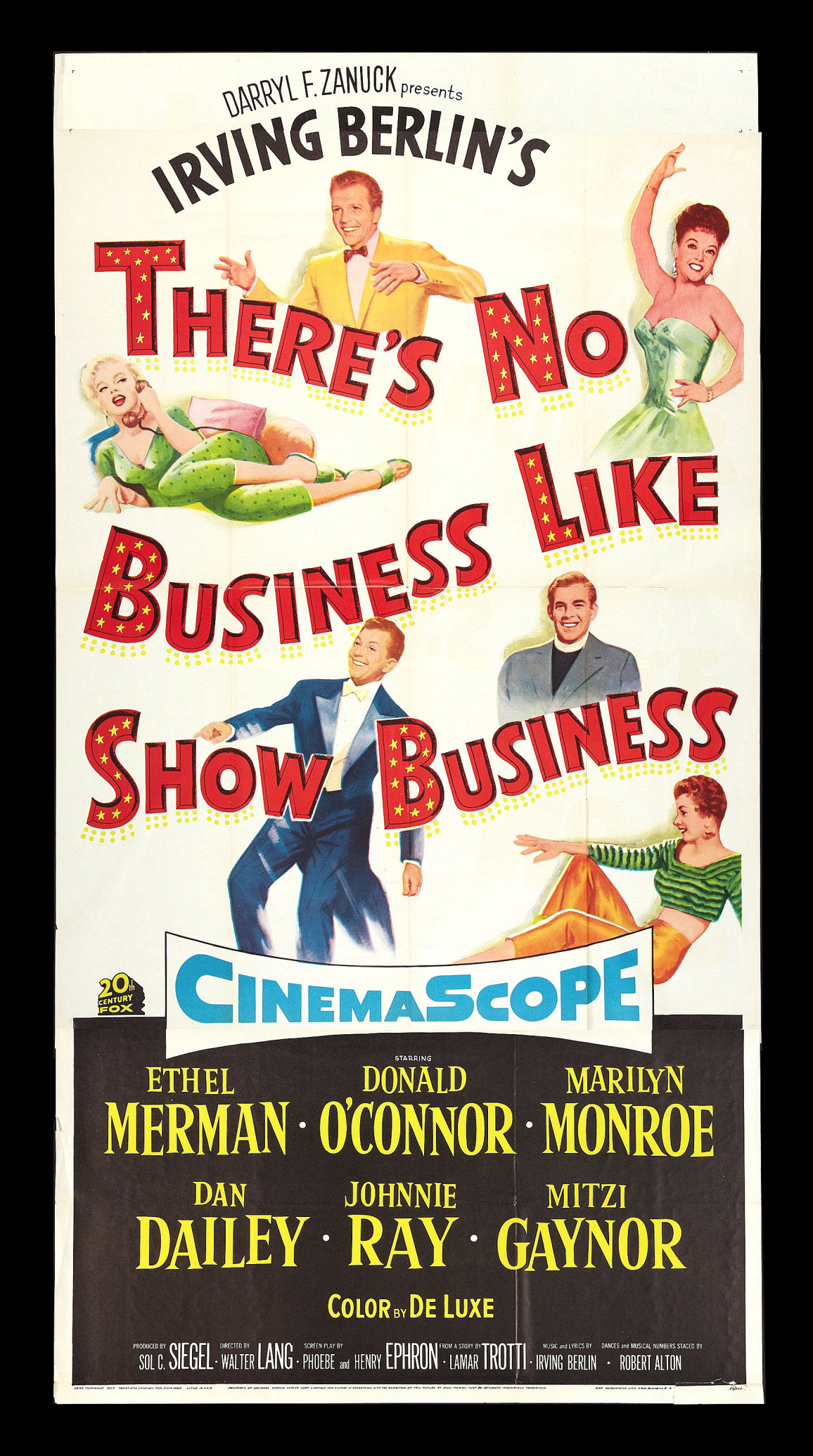 Details about there s no business like show business marilyn monroe