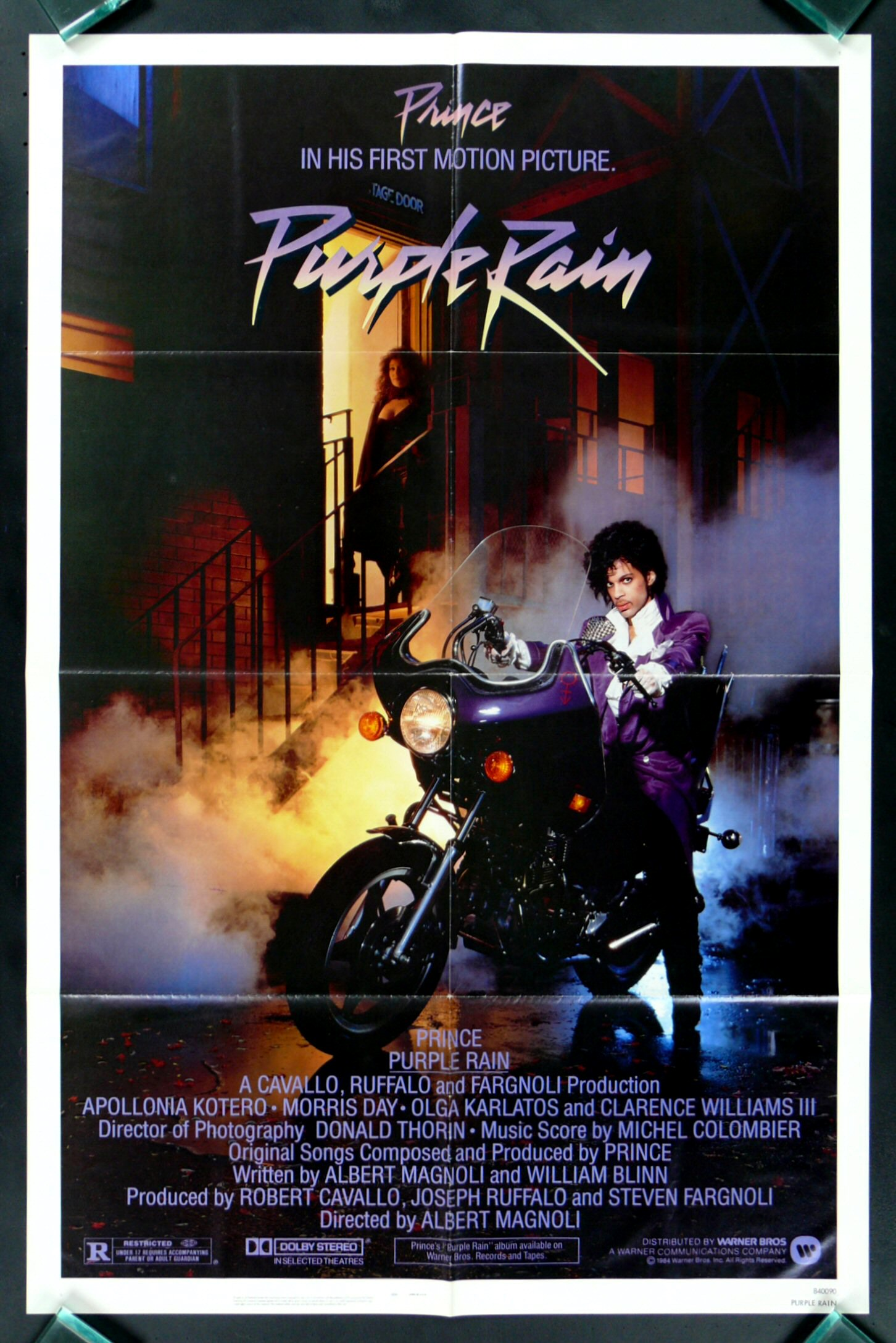 PURPLE RAIN * CineMasterpieces PRINCE ORIGINAL VINTAGE ...
