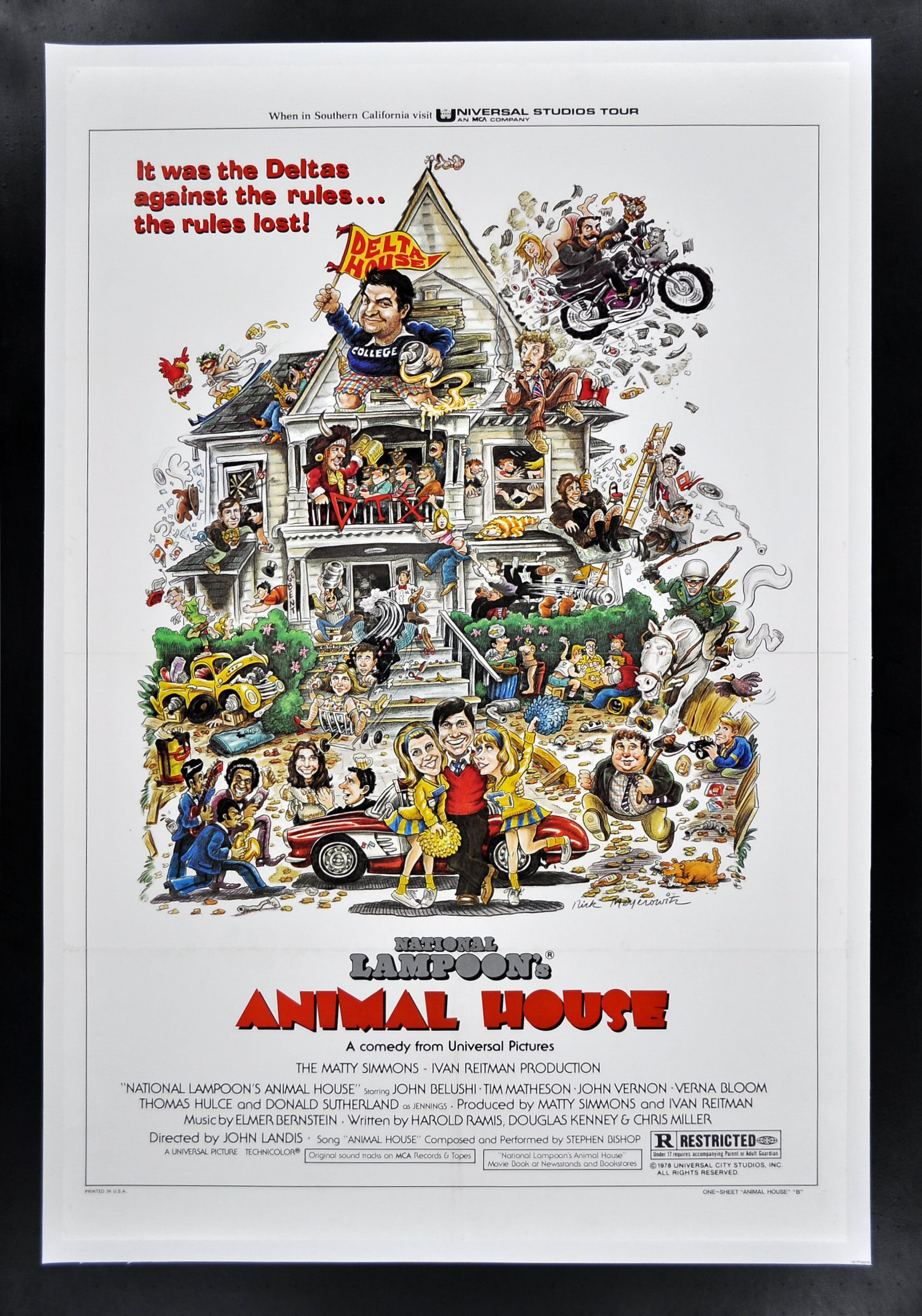 national lampoons animal house movie review