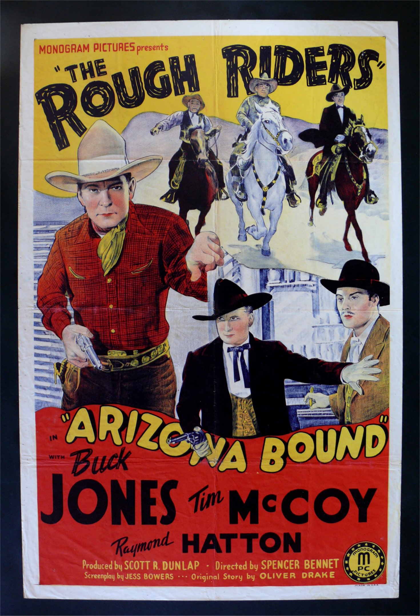 arizona bound movie poster film poster one sheet