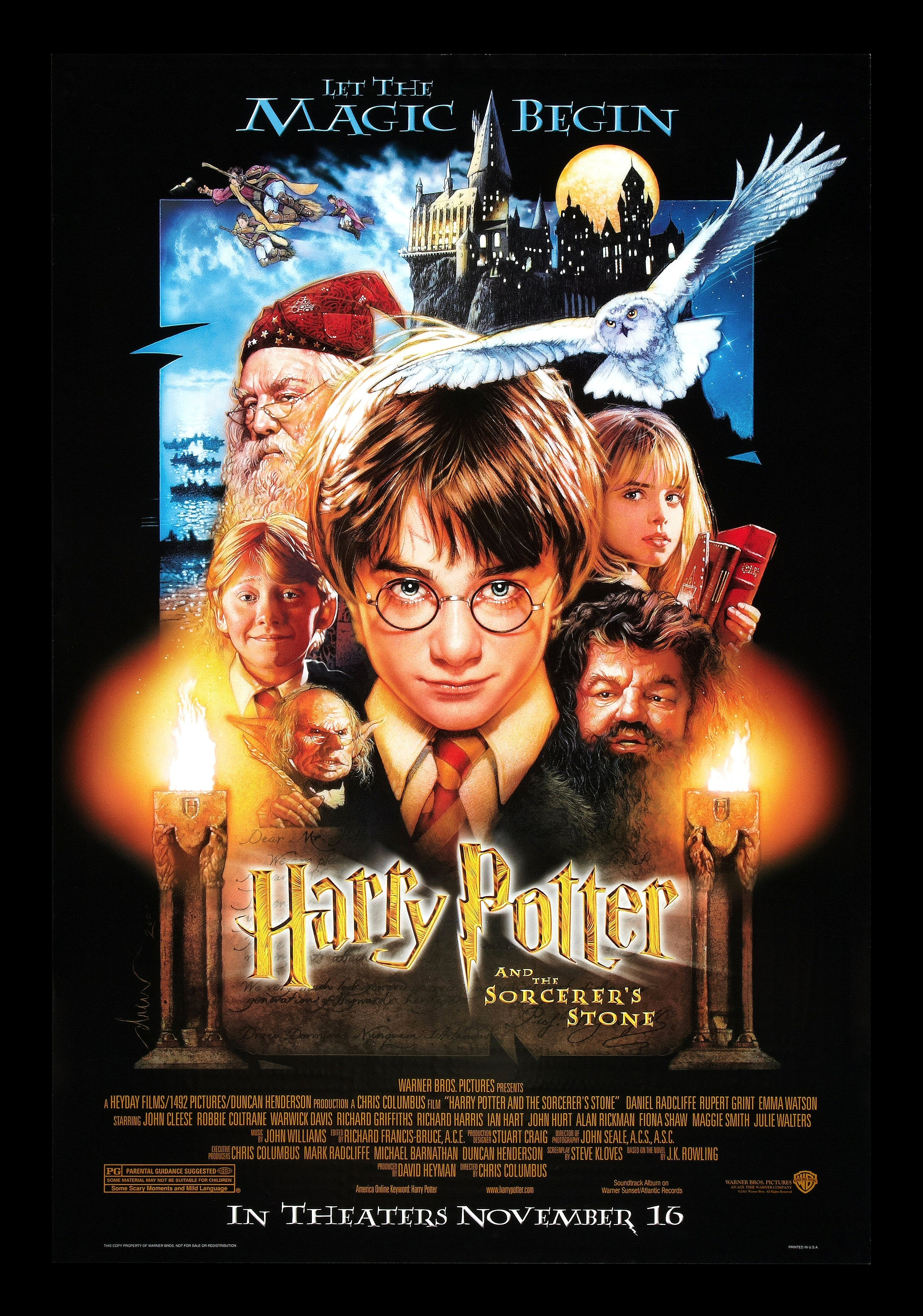 Harry potter and the sorcerer's stone short plot summary