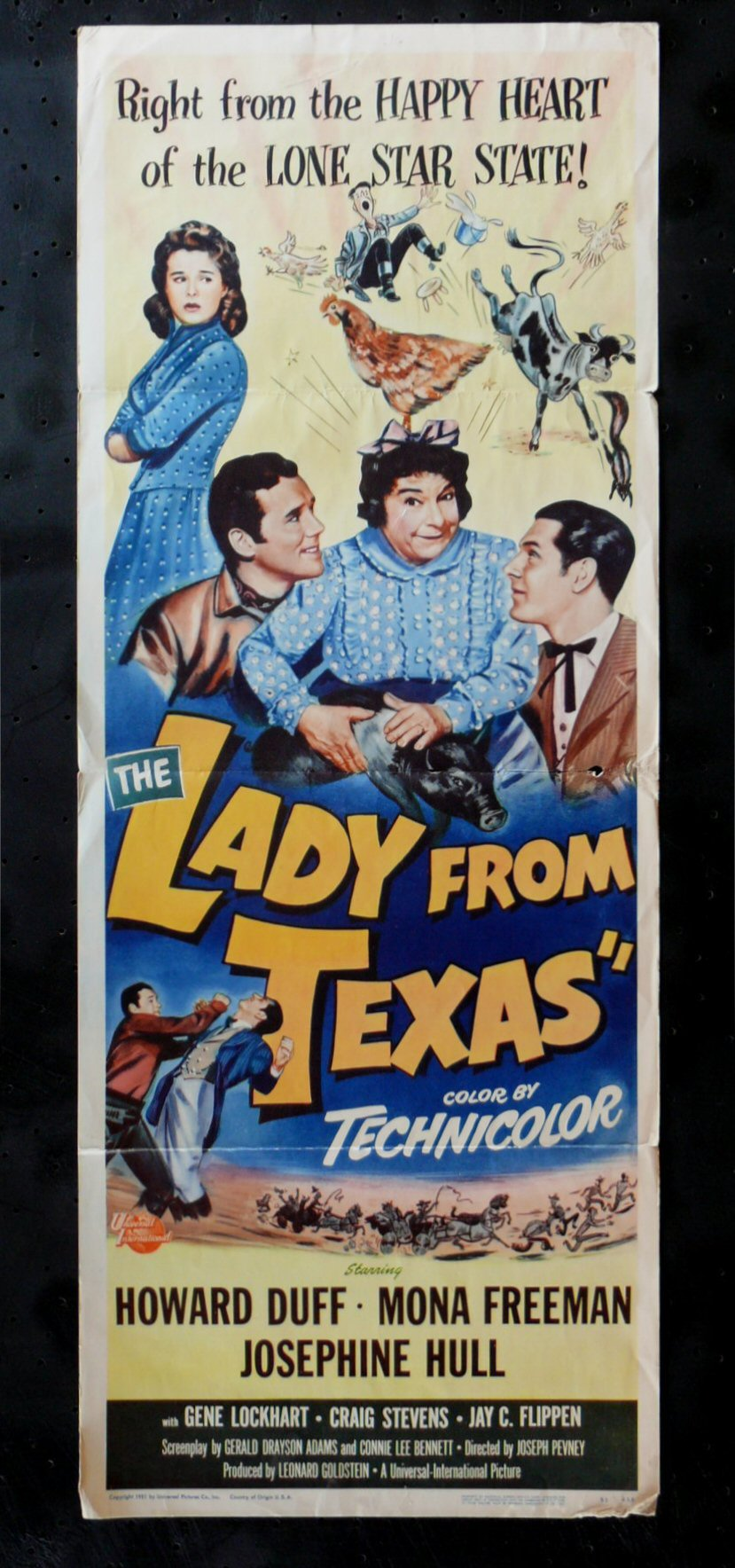 LADY FROM TEXAS, THE movie