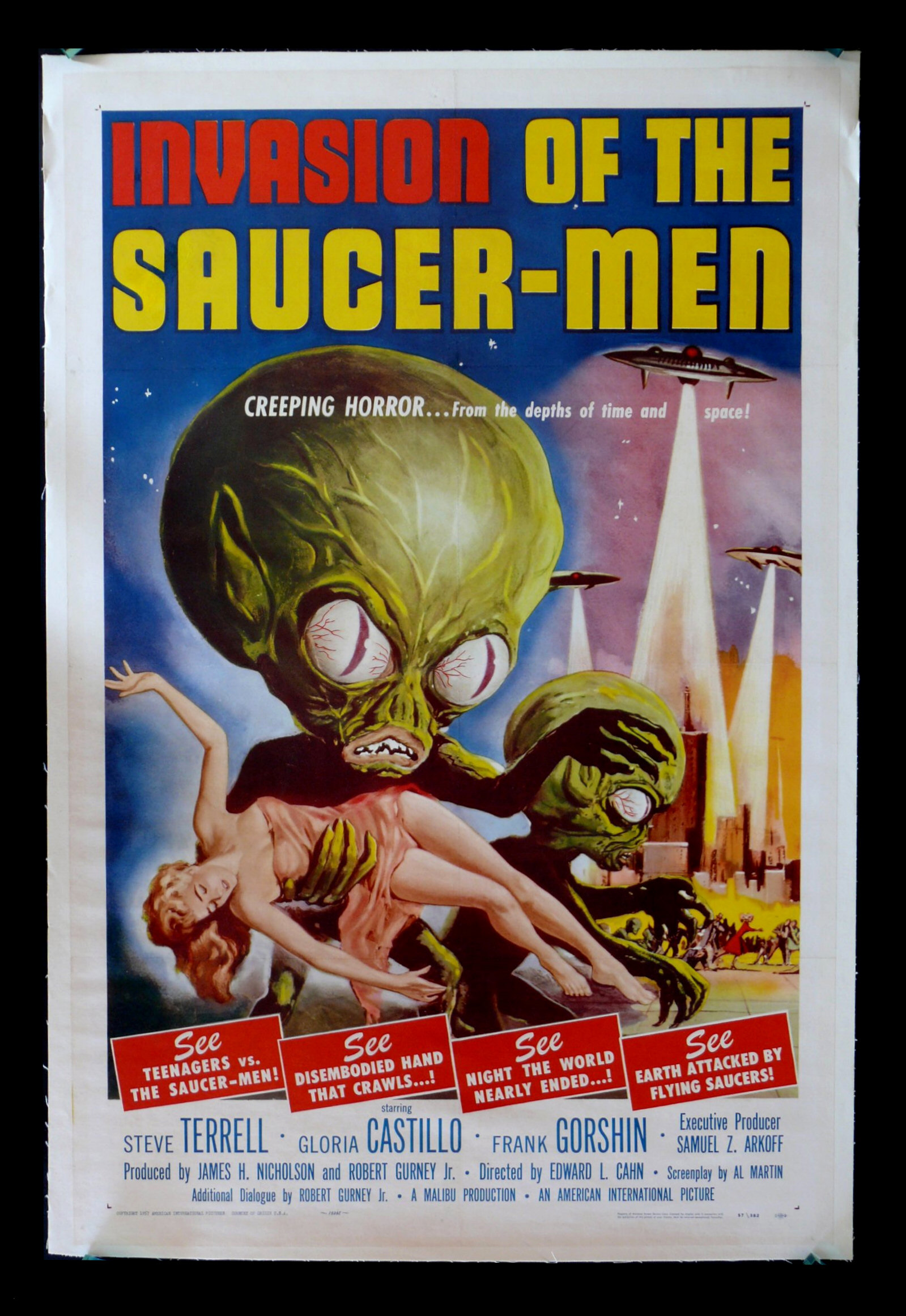 Carteles serieB peliculas antiguas ciencia ficcion y terror