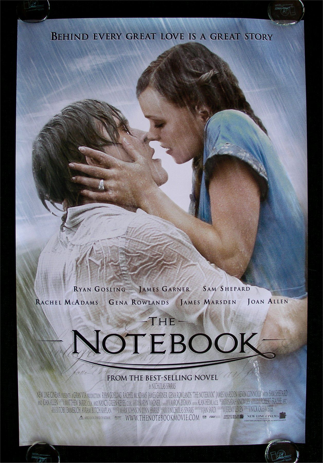 The Notebook|Movie theater