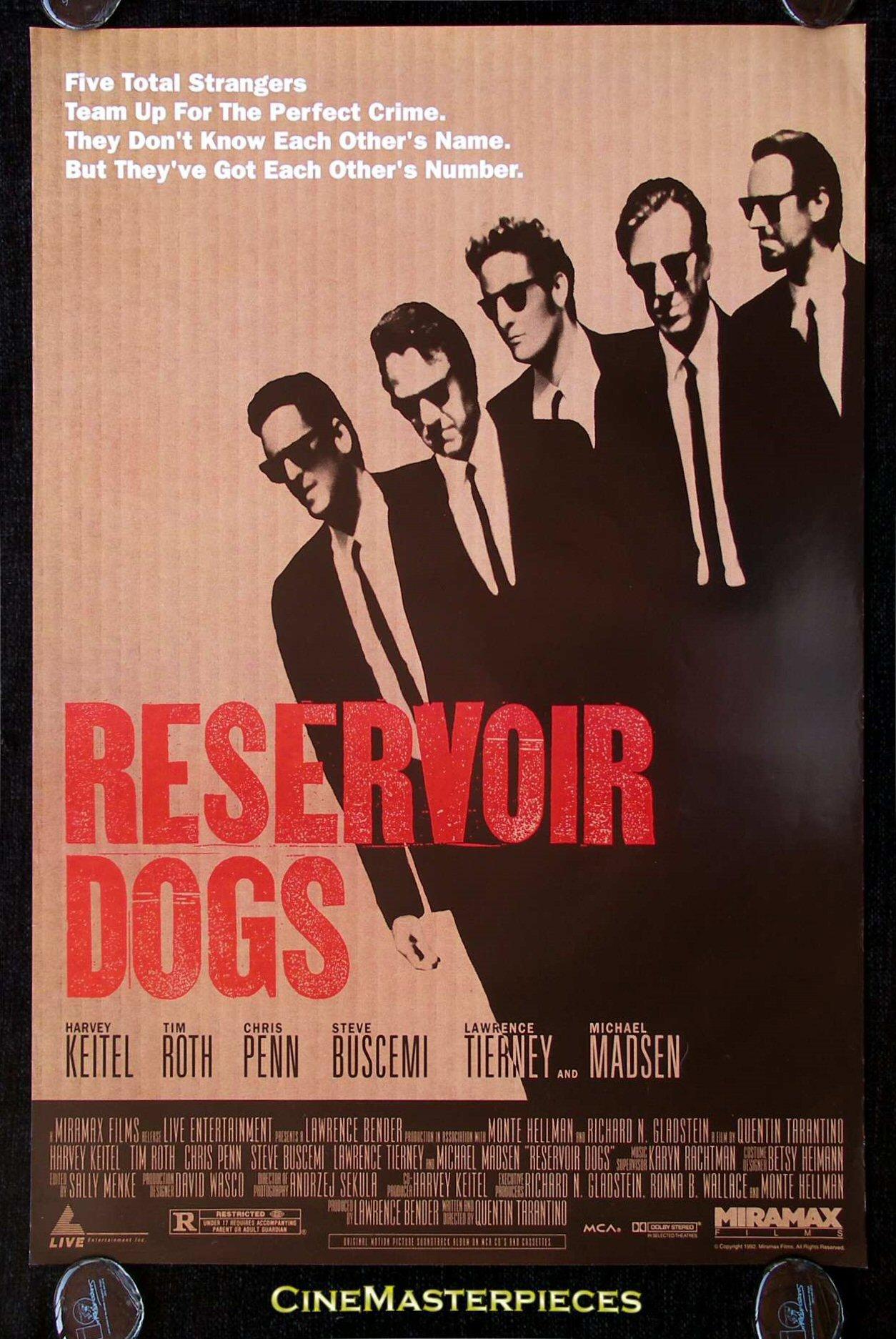 Beautiful Tarantino Movie Posters