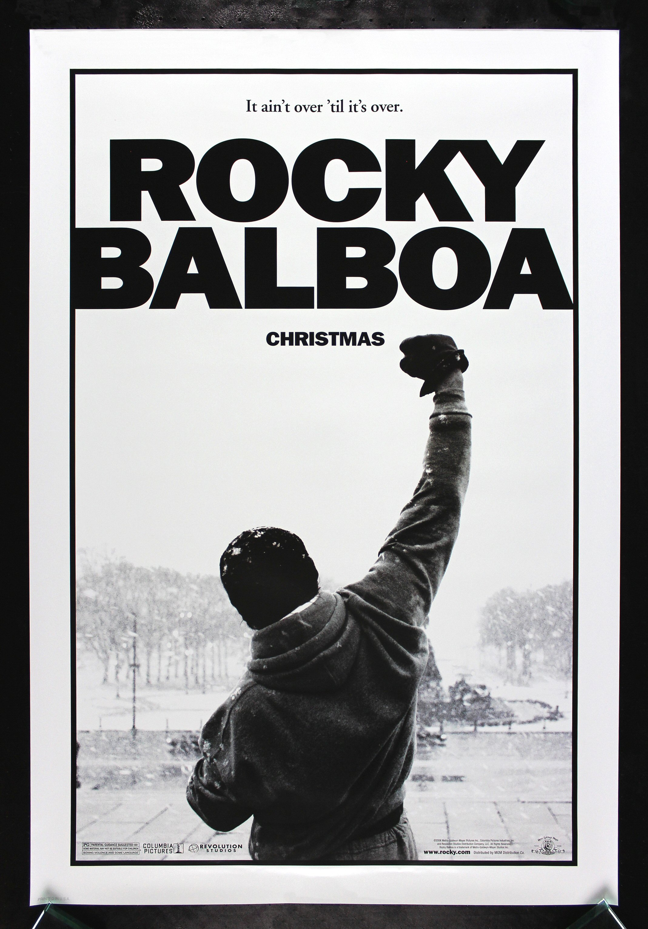 rocky balboa cinemasterpieces original movie poster