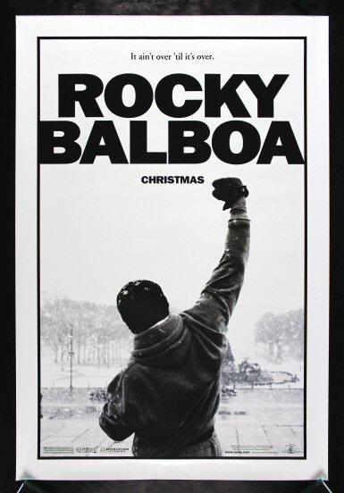 ROCKY BALBOA* CineMasterpieces ORIGINAL MOVIE POSTER ...