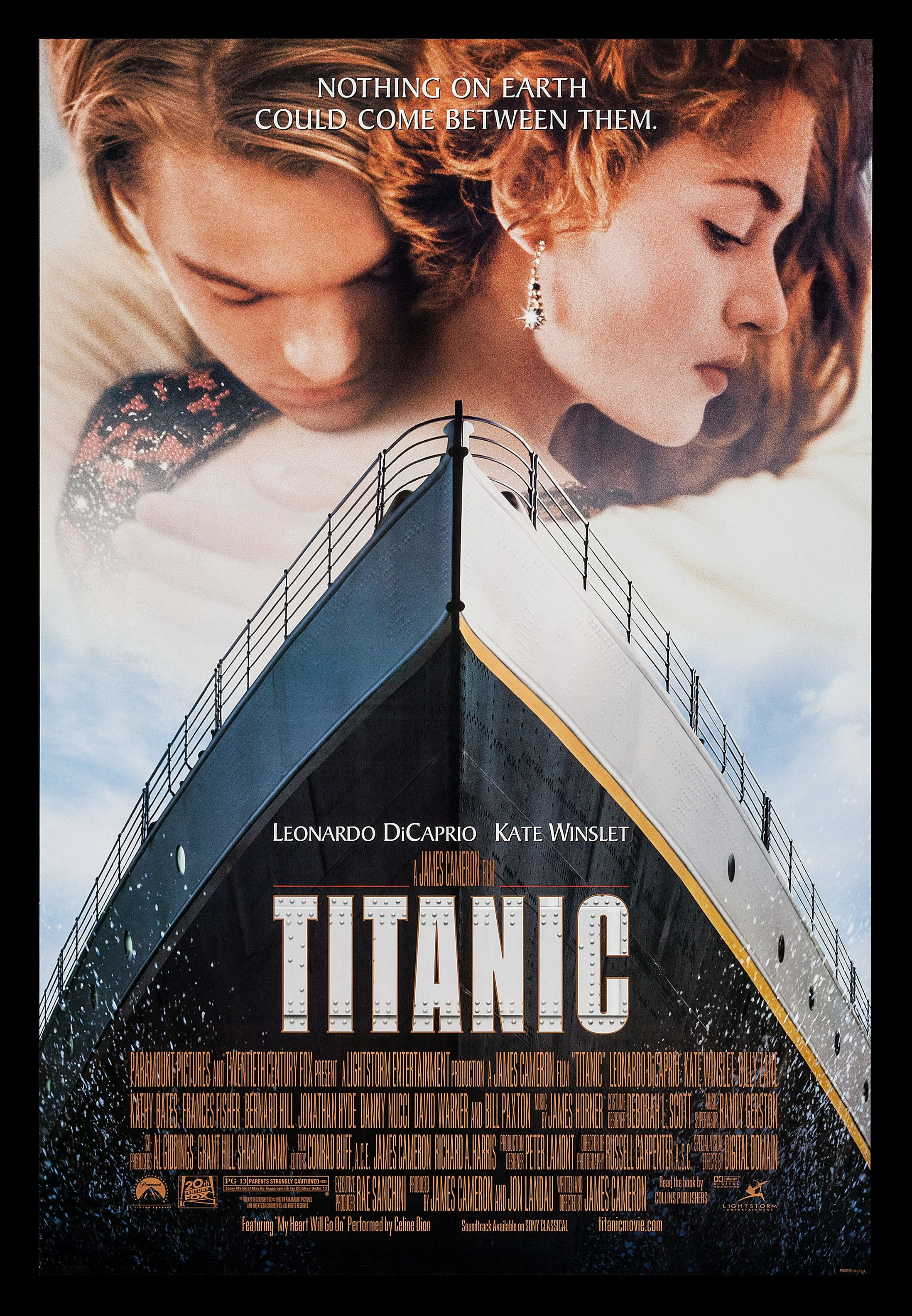 titanic cinemasterpieces 1997 1sh original ds movie