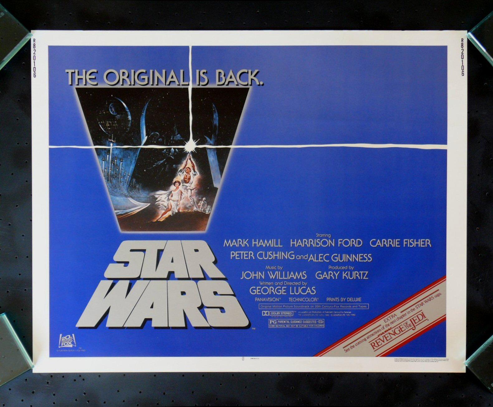 Carteles originales -Guerra de las Galaxias- 1ªparte