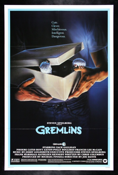 Details about GREMLINS * CineMasterpieces VINTAGE ORIGINAL MOVIE POSTER 1984