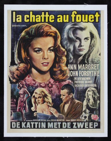 Kitten with a whip Ann Margret Movie poster print