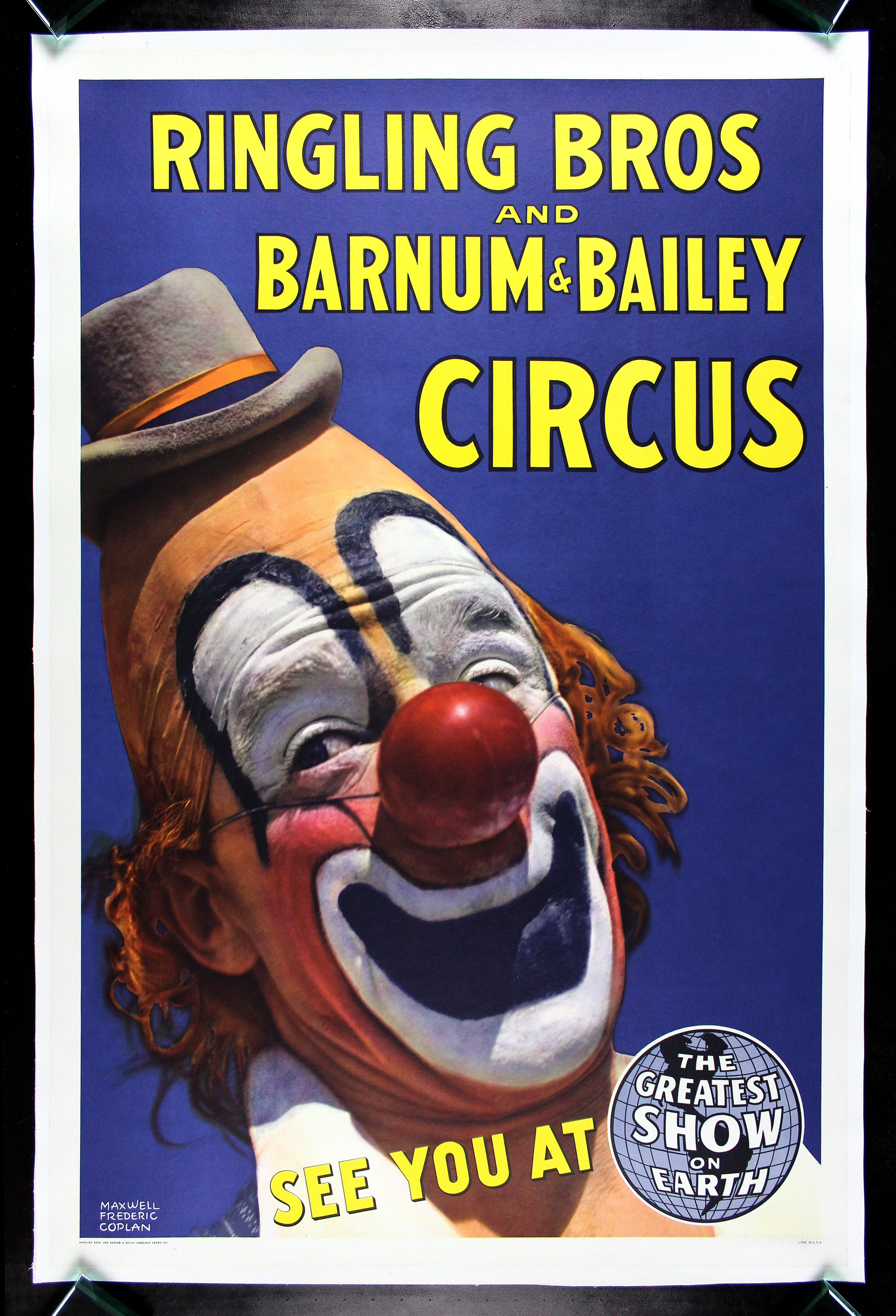 CIRCUS POSTERS VINTAGE RINGLING BROS BARNUM AND BAILEY CineMasterpieces