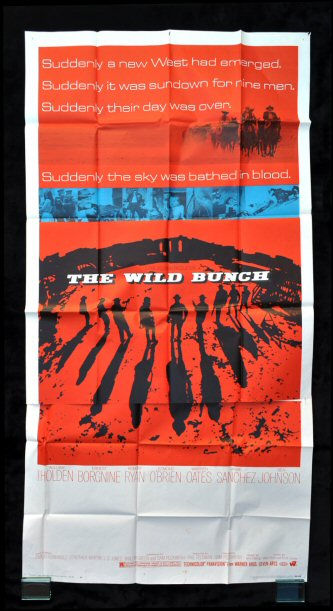 "Wild Bunch The Movie Poster 24/""x36/"""
