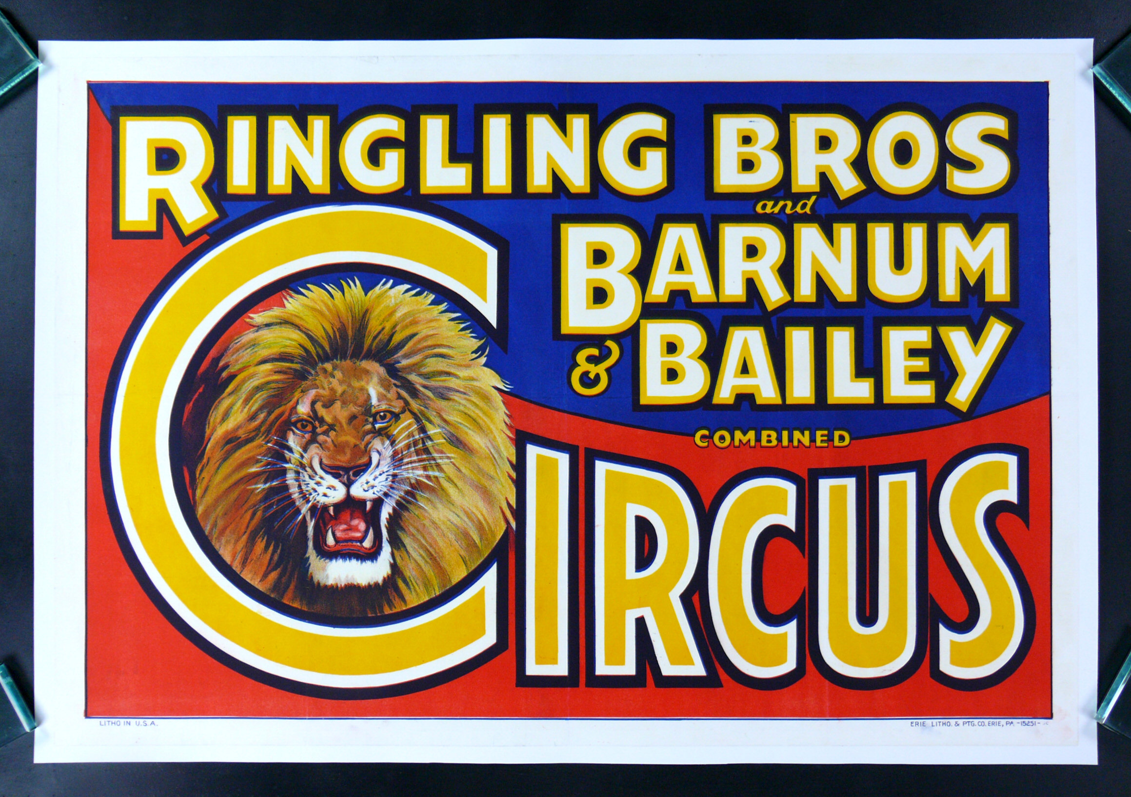 Poster design 1940 - Circus Posters Vintage Ringling Bros Barnum Bailey Circus Posters Cinemasterpieces