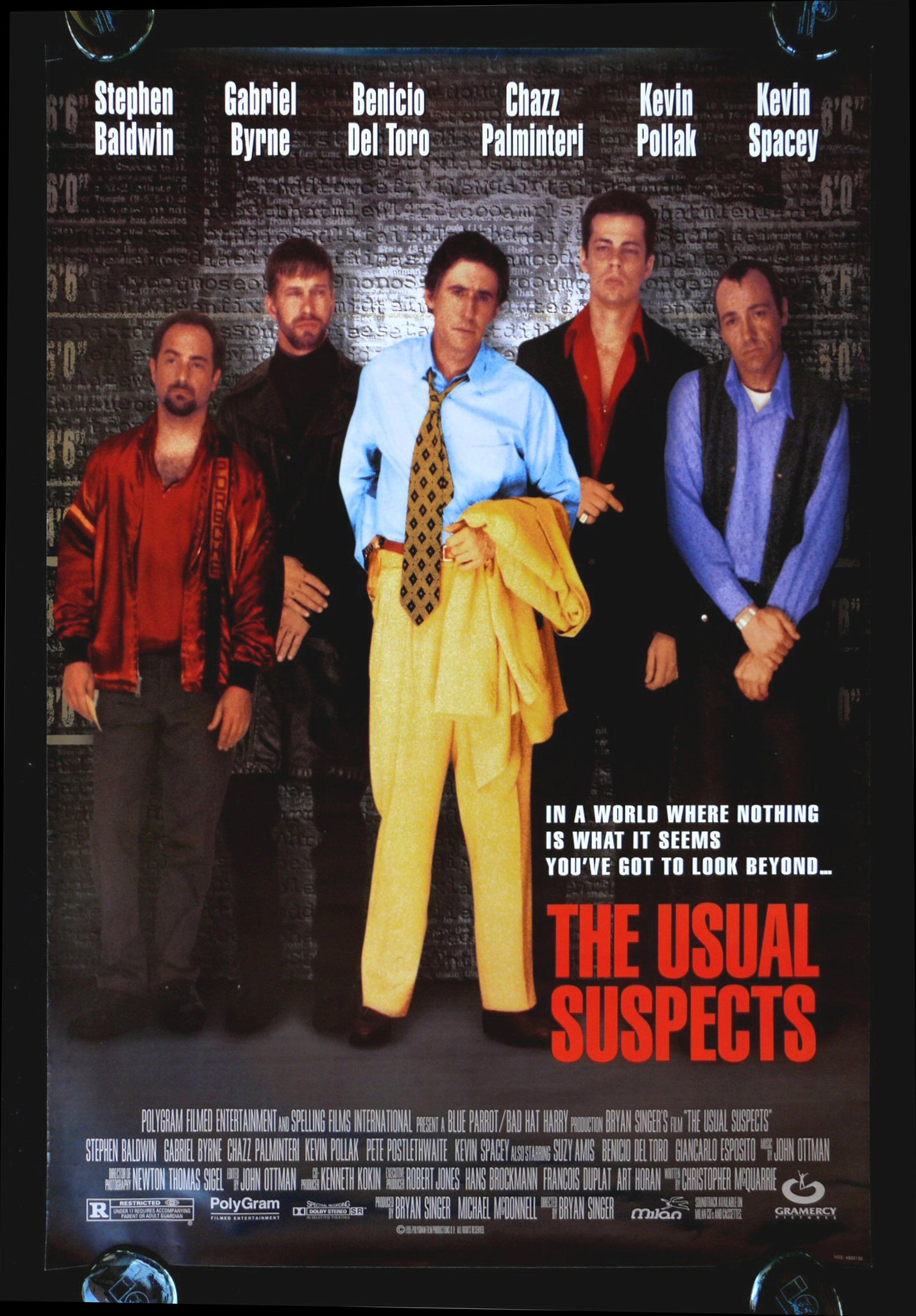 Unforgiven Underworld Usual Suspects Movie Posters