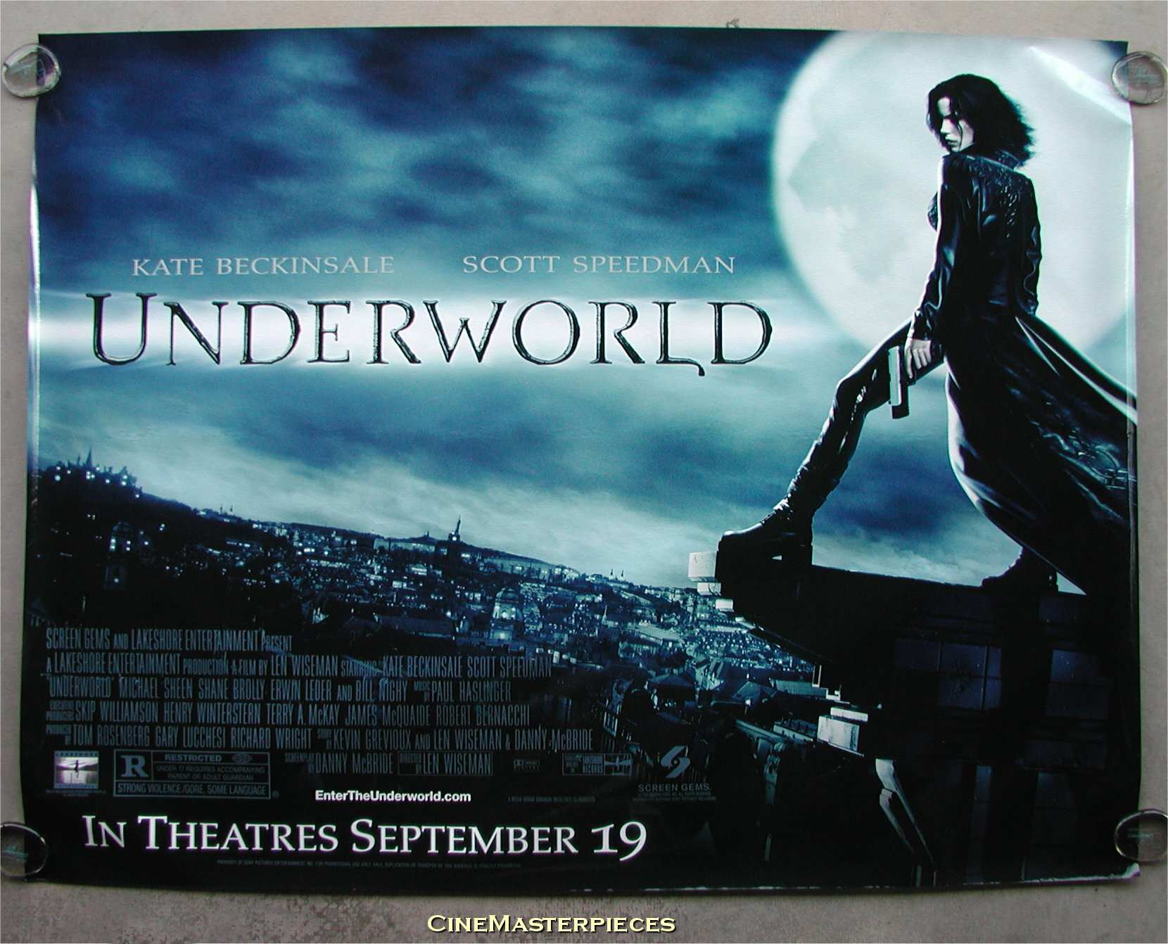 Movie Posters 2003: Underworld (2003) Movie