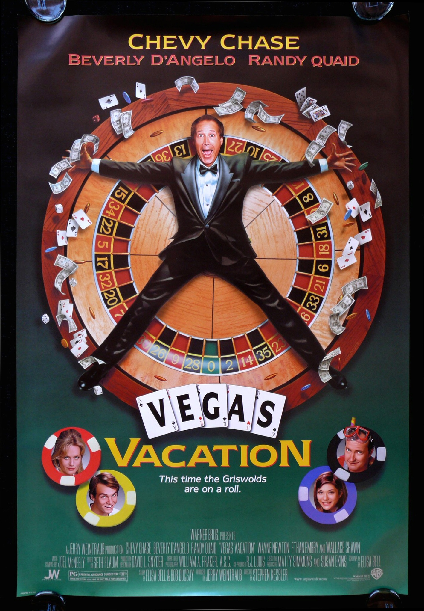 Vertigo Viva Las Vegas Vacation Movie Posters